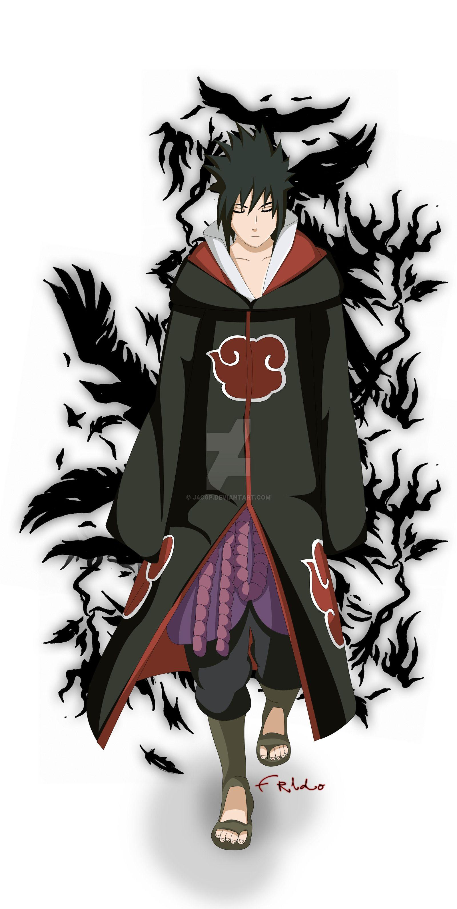 Uchiha Sasuke Akatsuki Wallpapers Wallpaper Cave