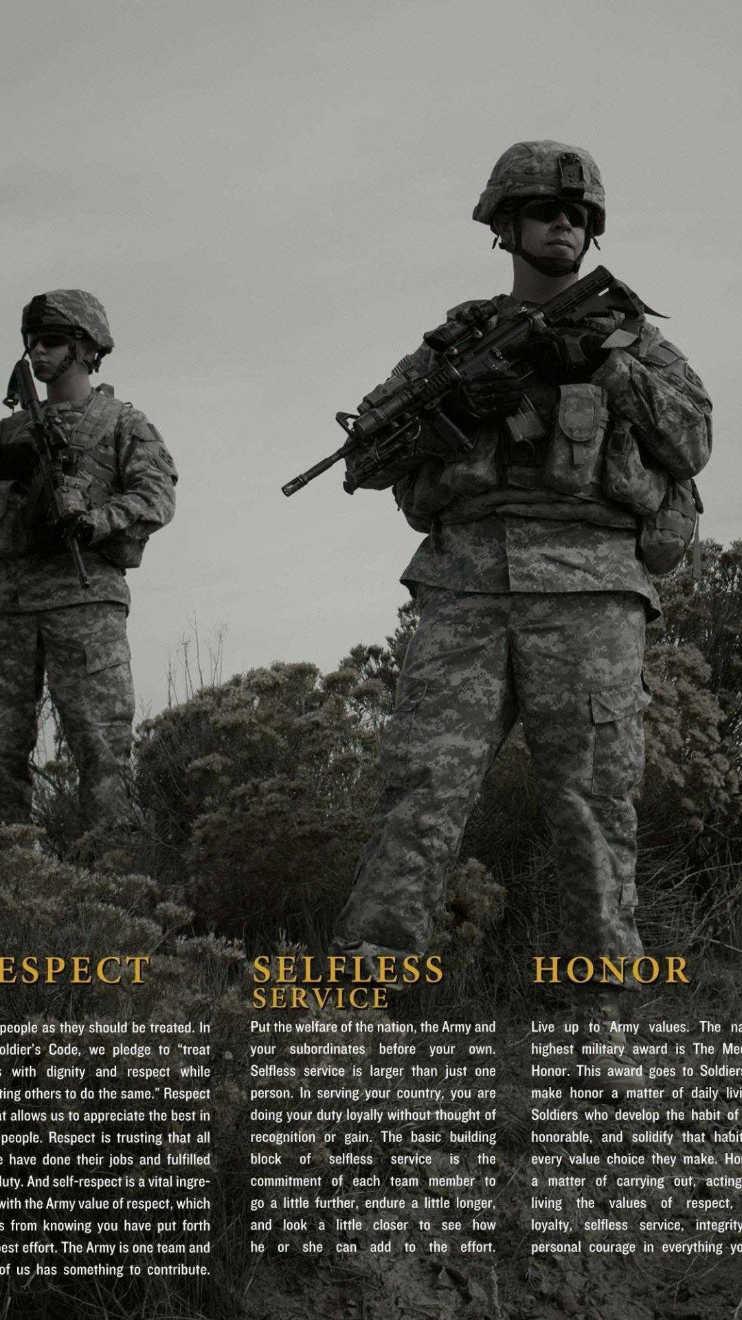 US Army iPhone Wallpapers
