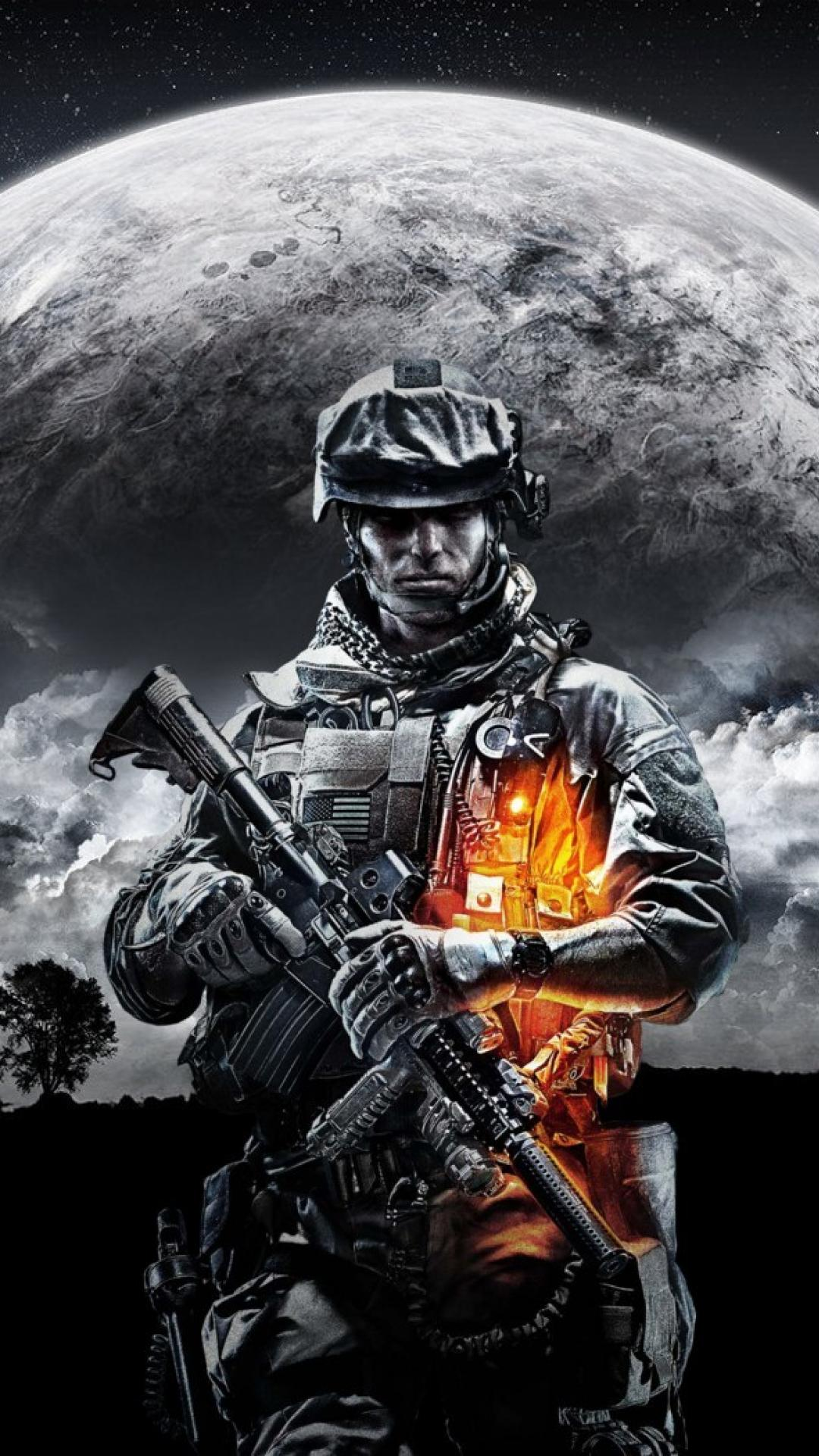 Moon us army battlefield 3 pc games wallpapers