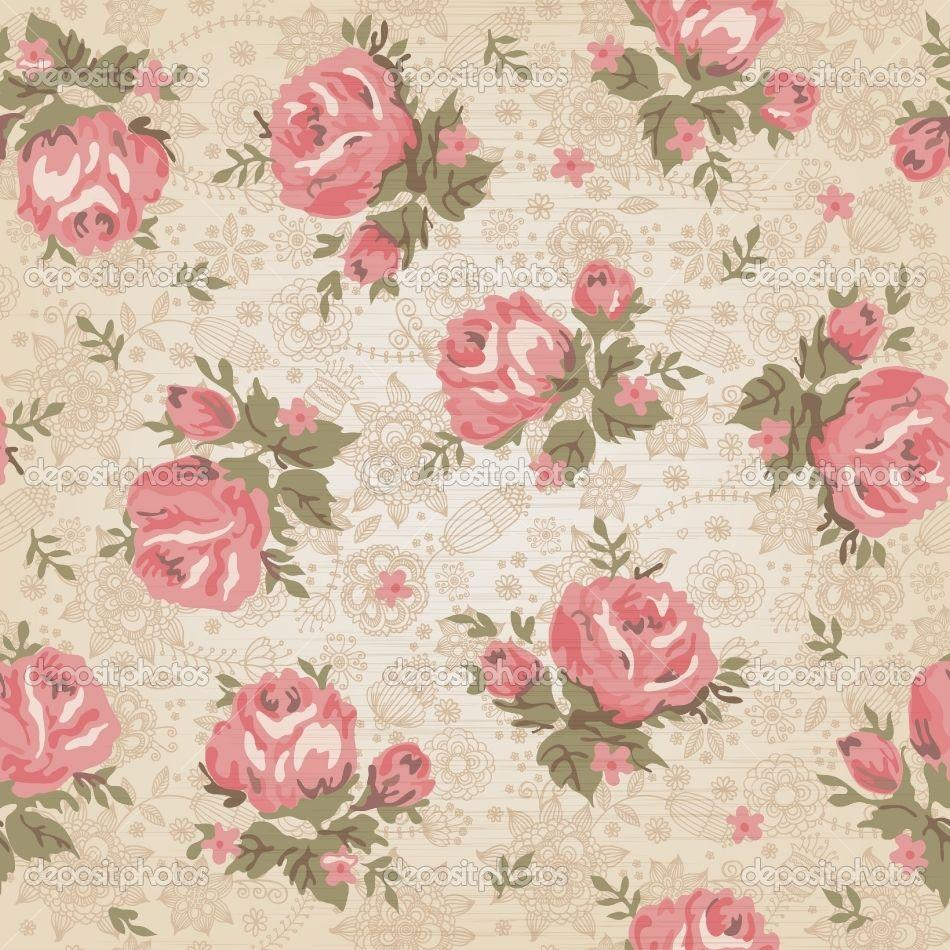 Vintage Flower Wallpaper Hd