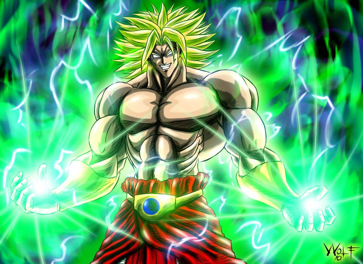 Broly broly the legendary super saiyan gif on gifer by midal.