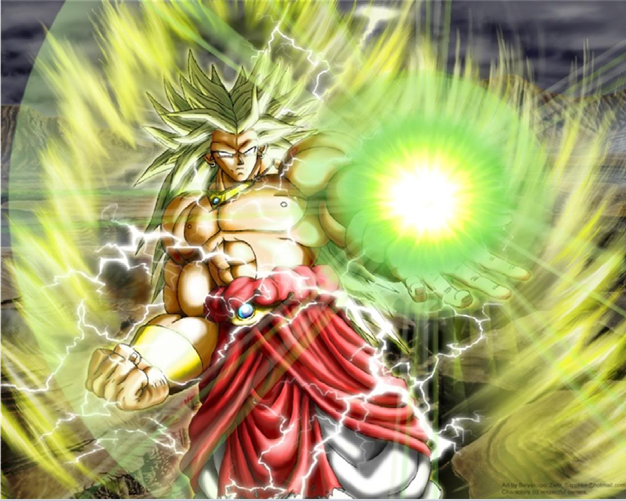 Broly Legendary Super Saiyan Wallpapers Hd Wallpaper Cave