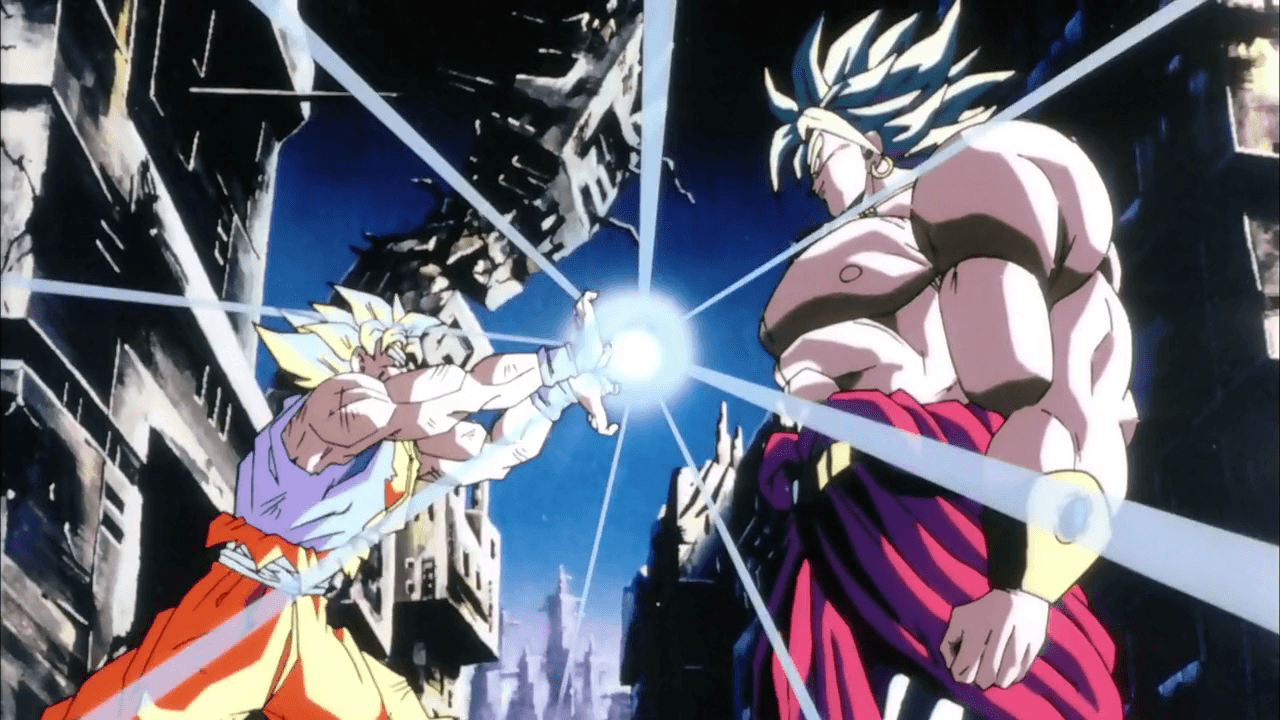 Goku Vs Broly Wallpapers Wallpaper Cave