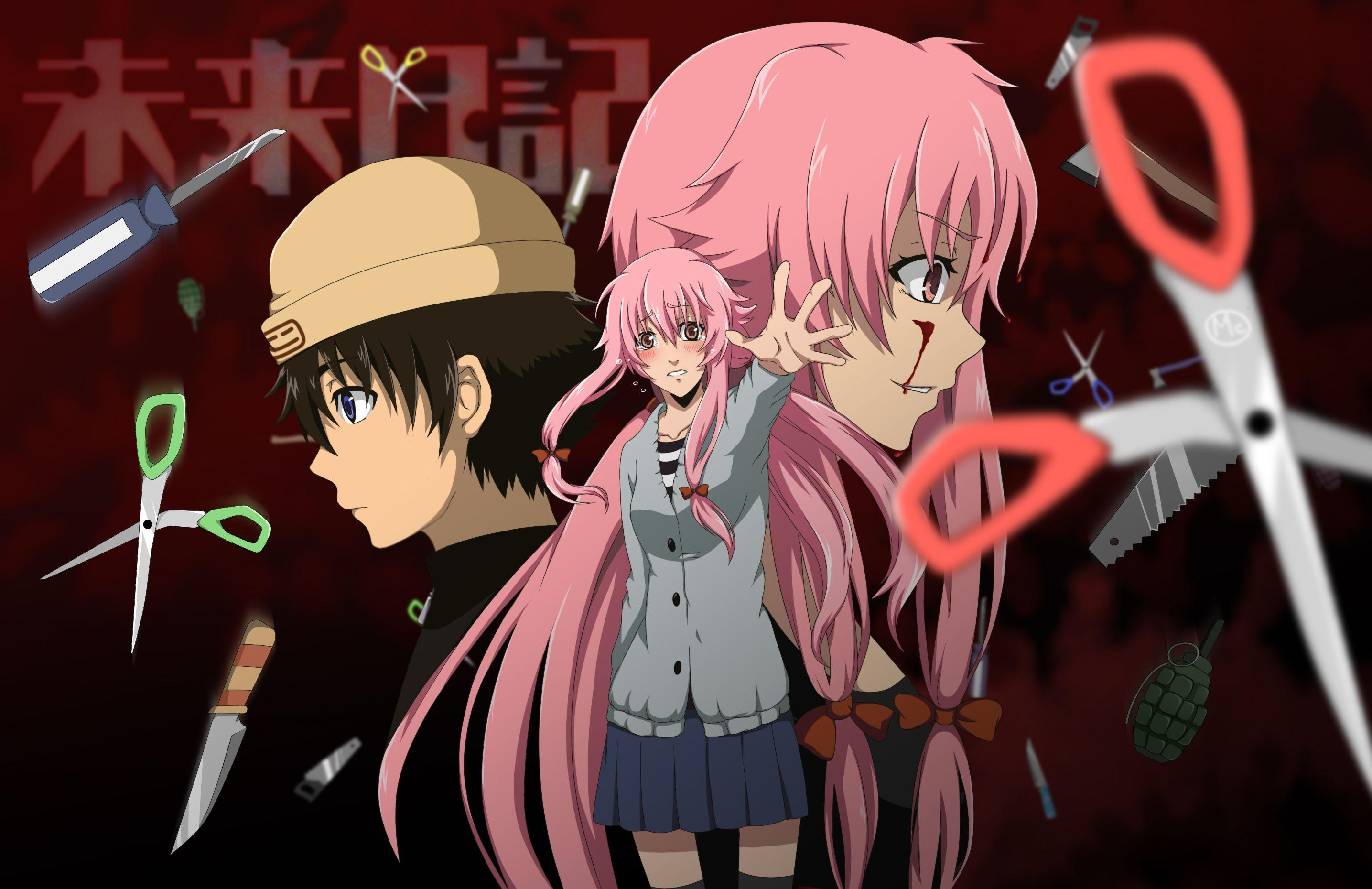 Unduh 93+ Wallpaper Hd Anime Mirai Nikki HD Gratid