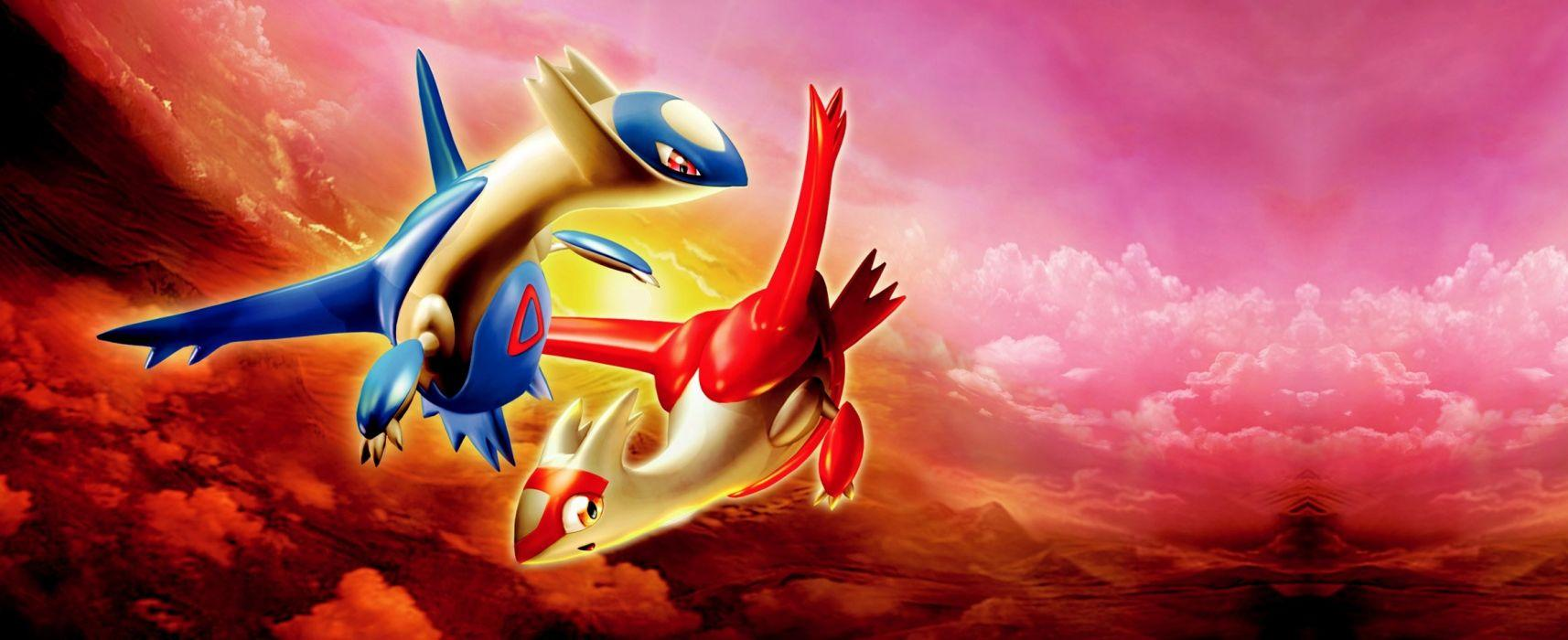 Latias and Latios wallpaper | 2328x951 | 1068671 | WallpaperUP