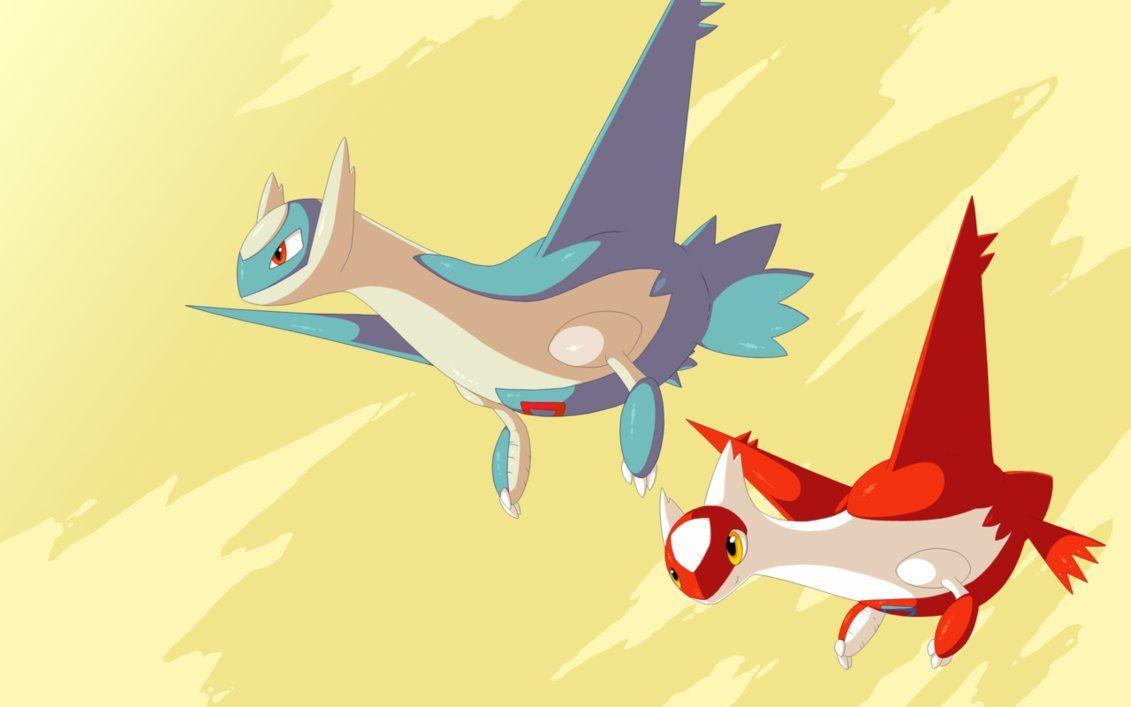 Latios and latias wallpaper by RawChomp on DeviantArt