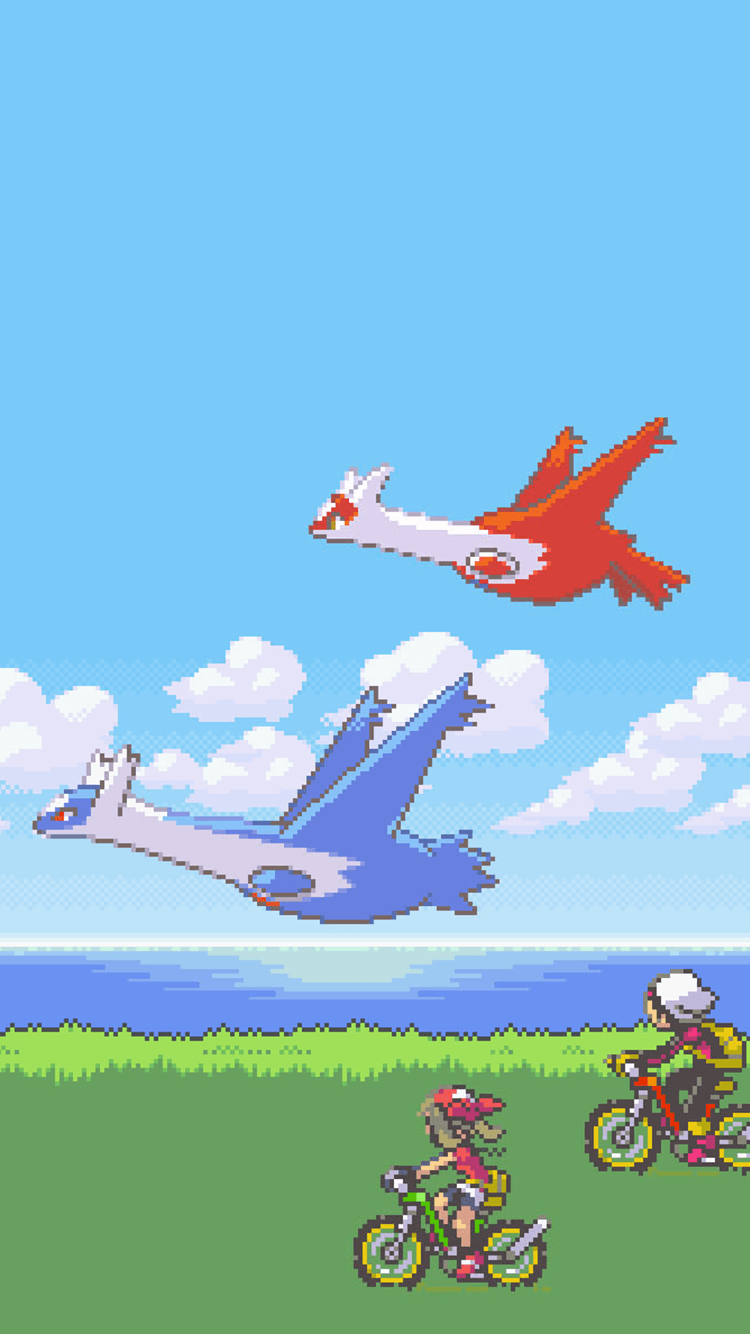 Anyone know if there's a live wallpaper with latios and latias ...