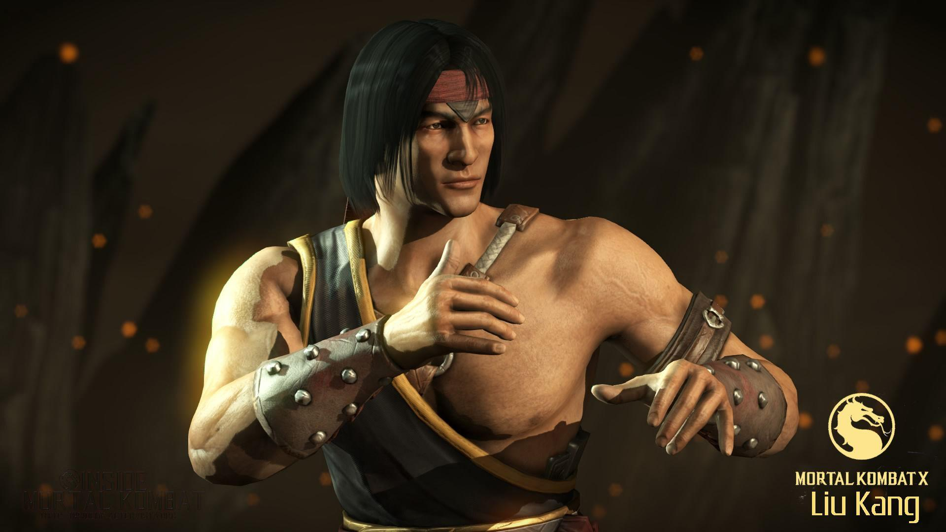 Mortal Kombat Liu Kang Wallpapers Wallpaper Cave