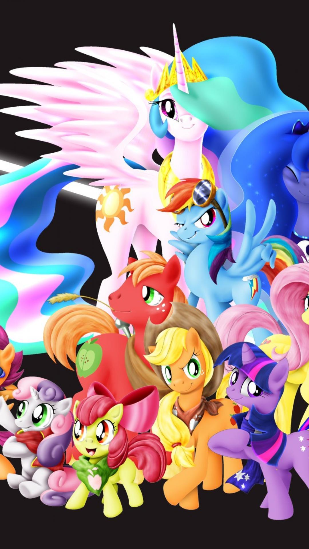 My Little Pony HD Iphone Wallpapers - Wallpaper Cave