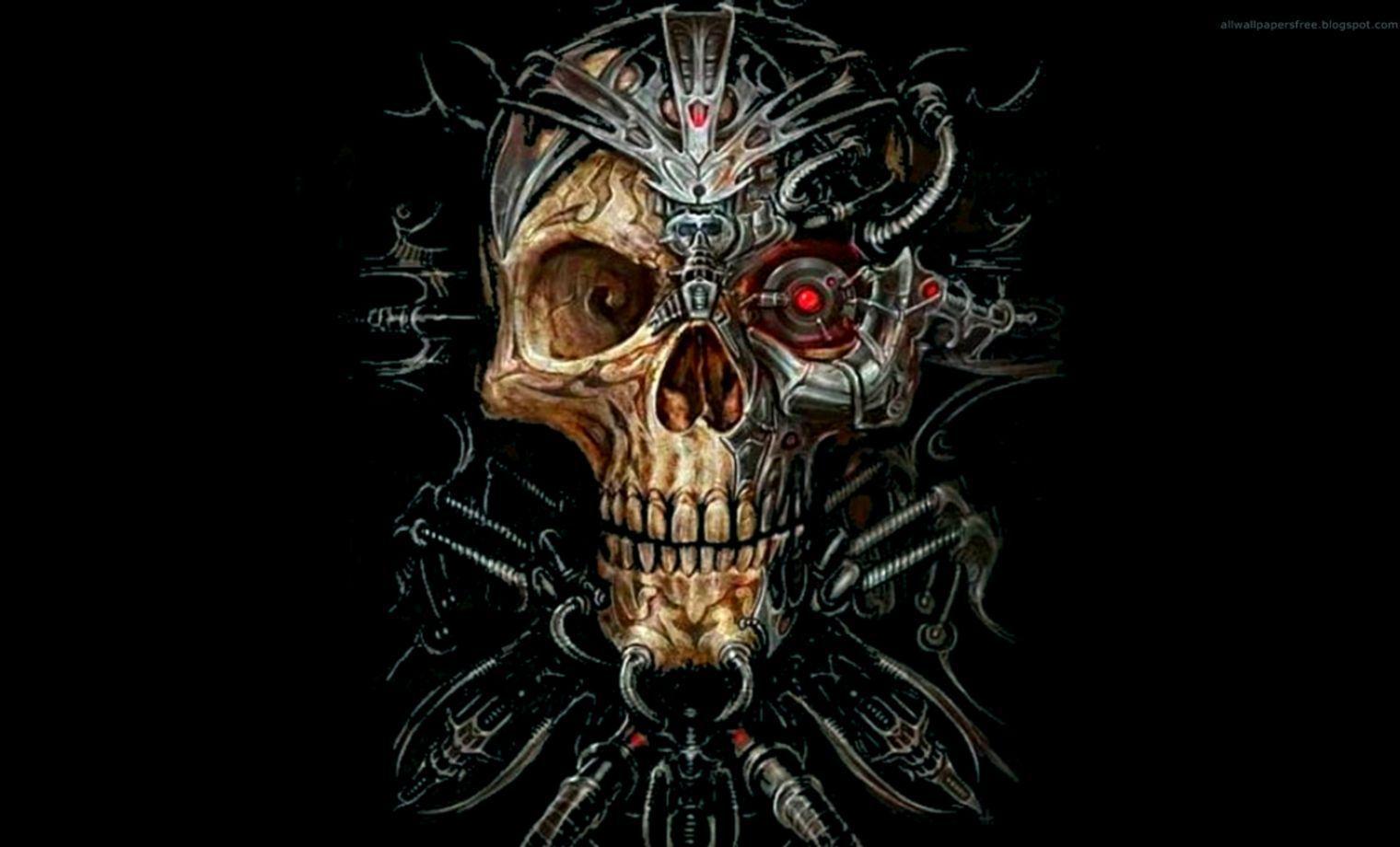 Evil Skull HD Wallpape...