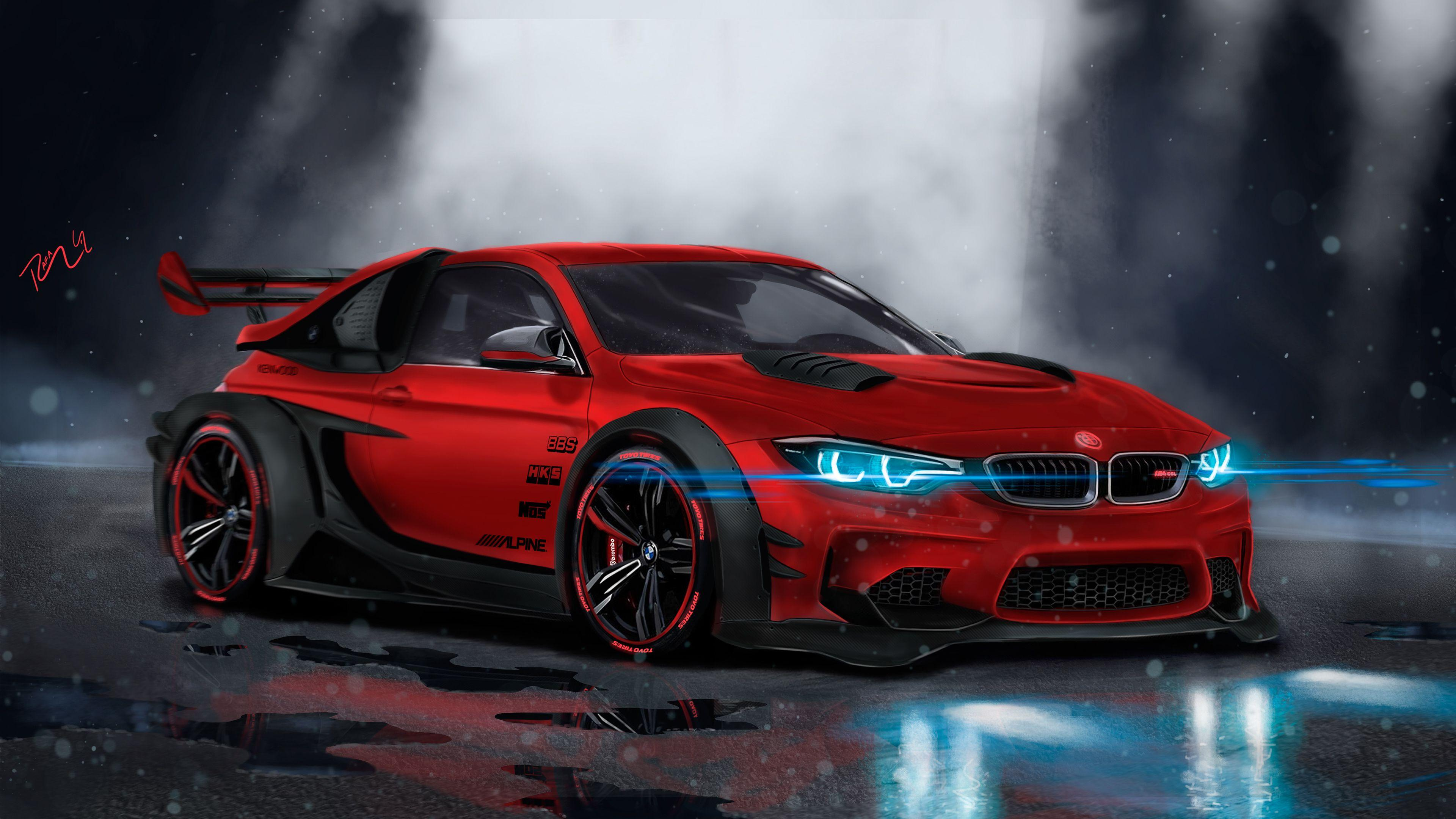 4k wallpapers bmw custom m4 cgi