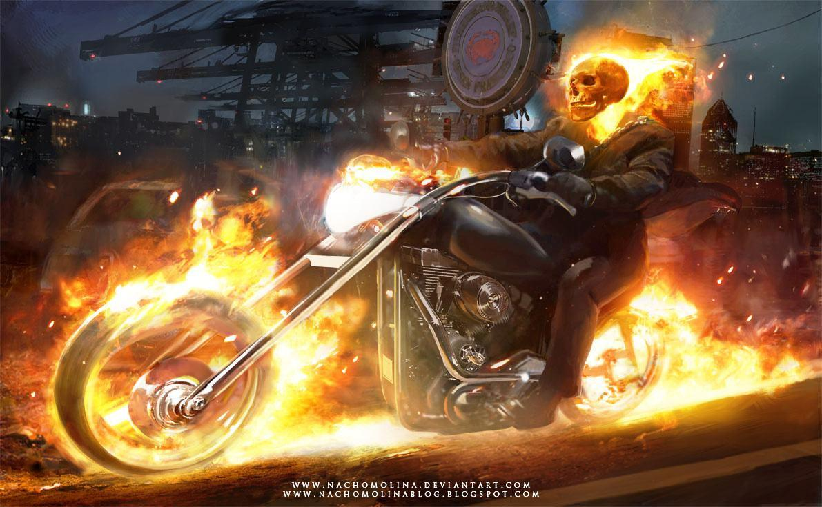 Wallpapers Ghost Rider Bike