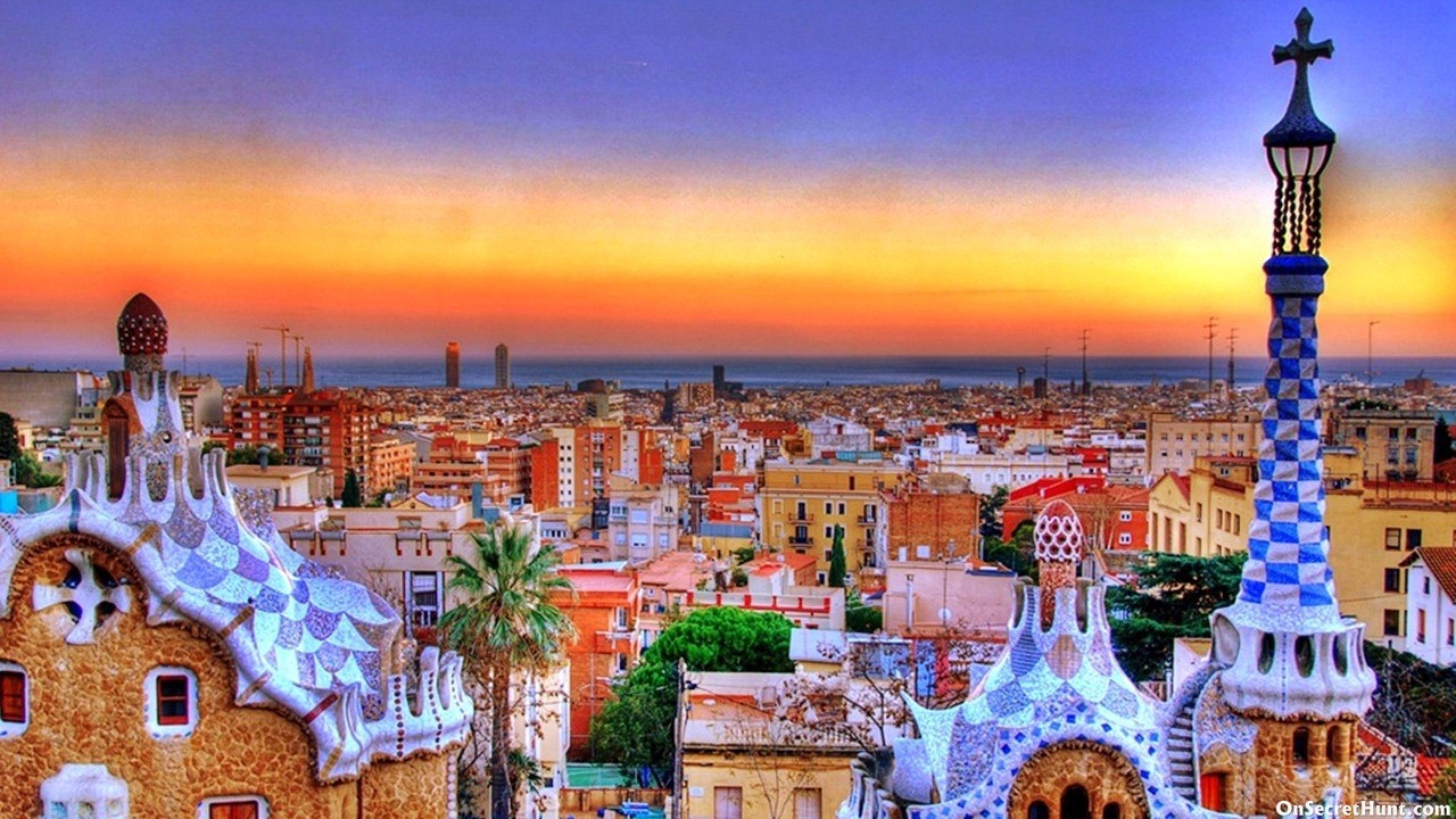 Spain Barcelona Desktop Wallpapers - Wallpaper Cave
