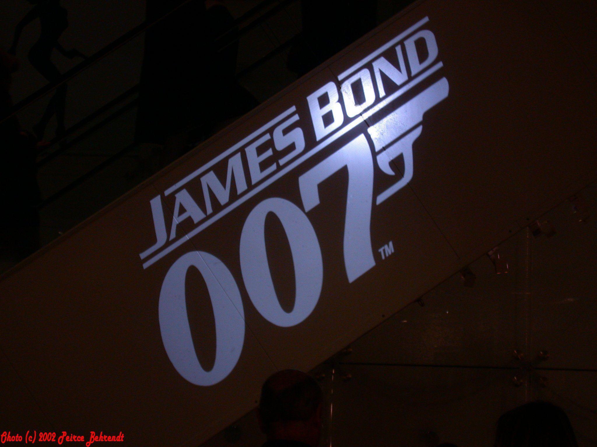 james bond 007 logo wallpapers wallpaper cave