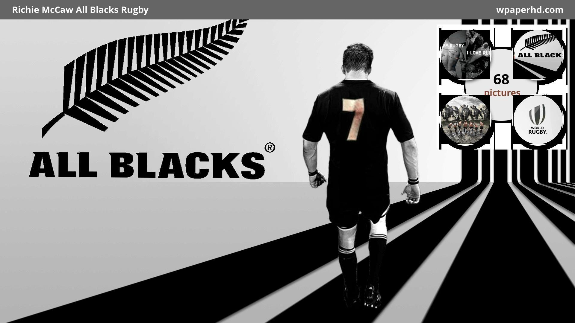 All Blacks Rugby Wallpapers Wallpaper Cave