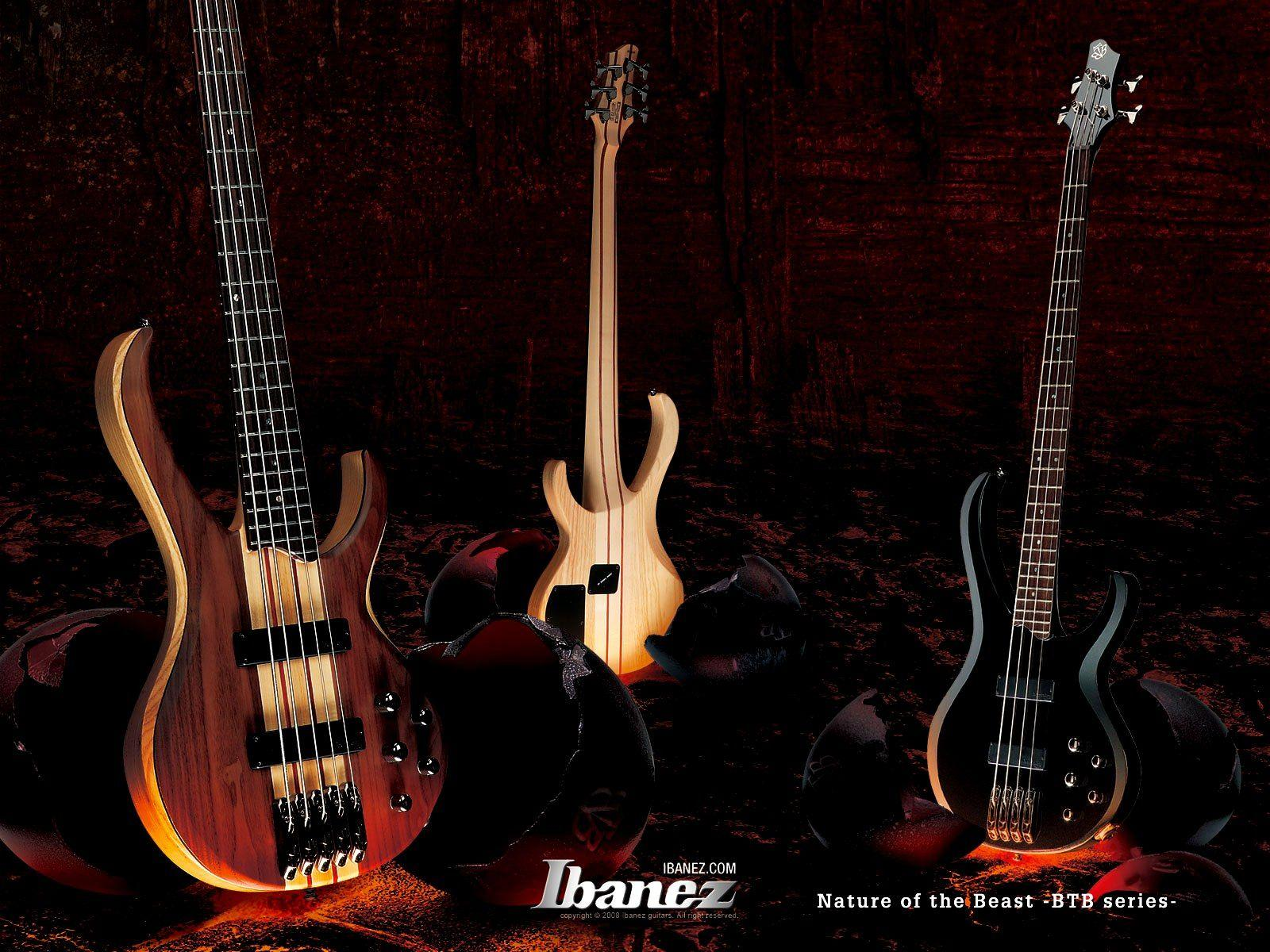 Bass Guitar Wallpaper Wallpapertag: Ibanez Bass Guitar Wallpapers