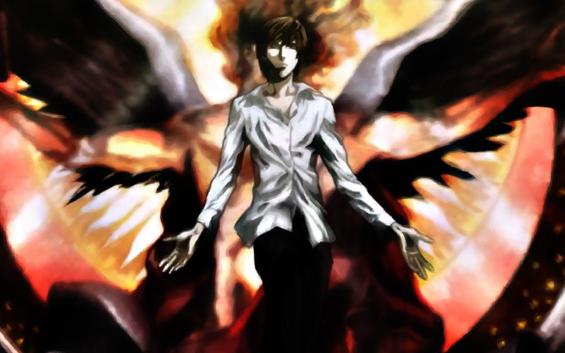Death Note Light Wallpapers - Wallpaper Cave