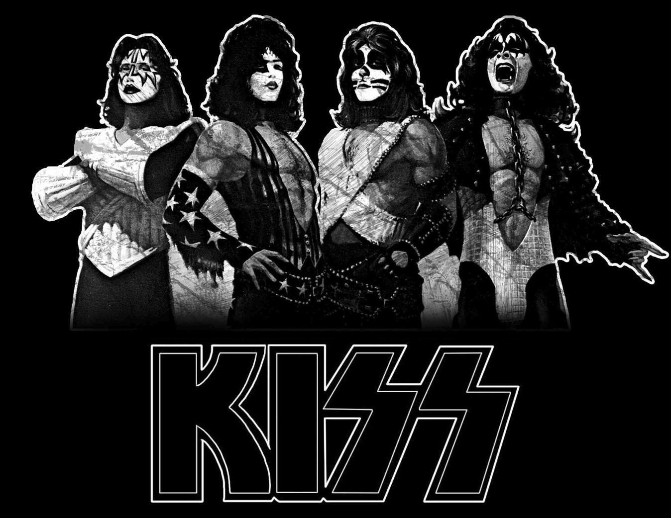 kiss band wallpapers - wallpaper cave
