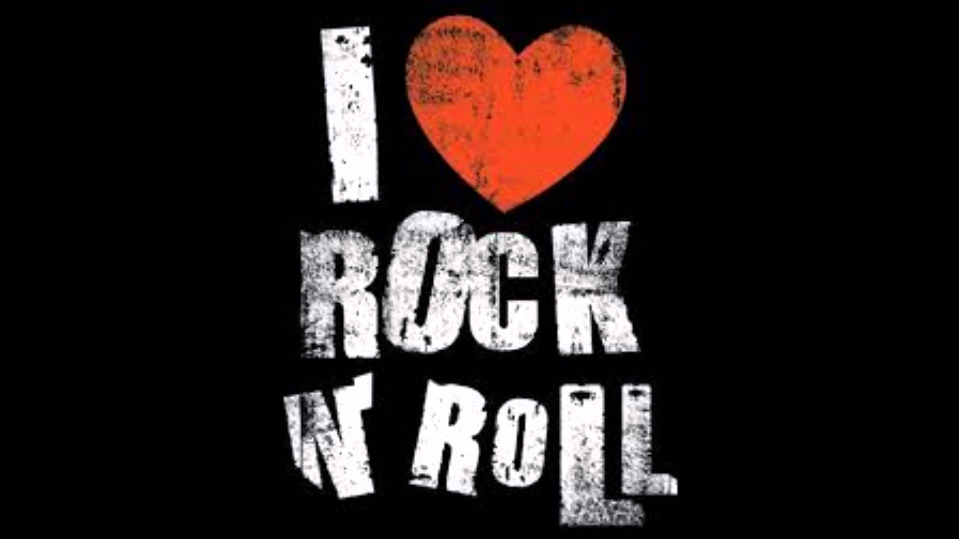 I Love Rock Wallpapers Wallpaper Cave