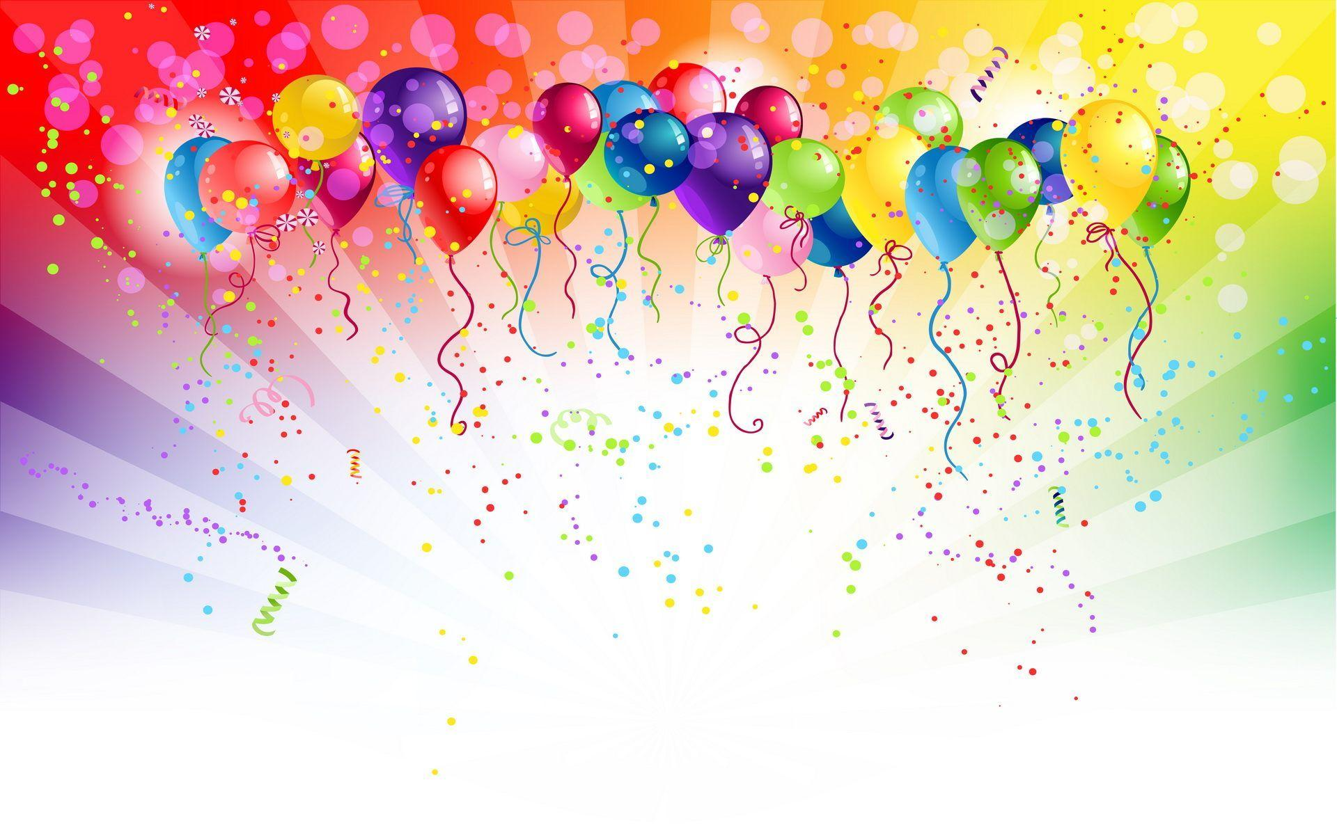Birthday Balloons Wallpapers Group