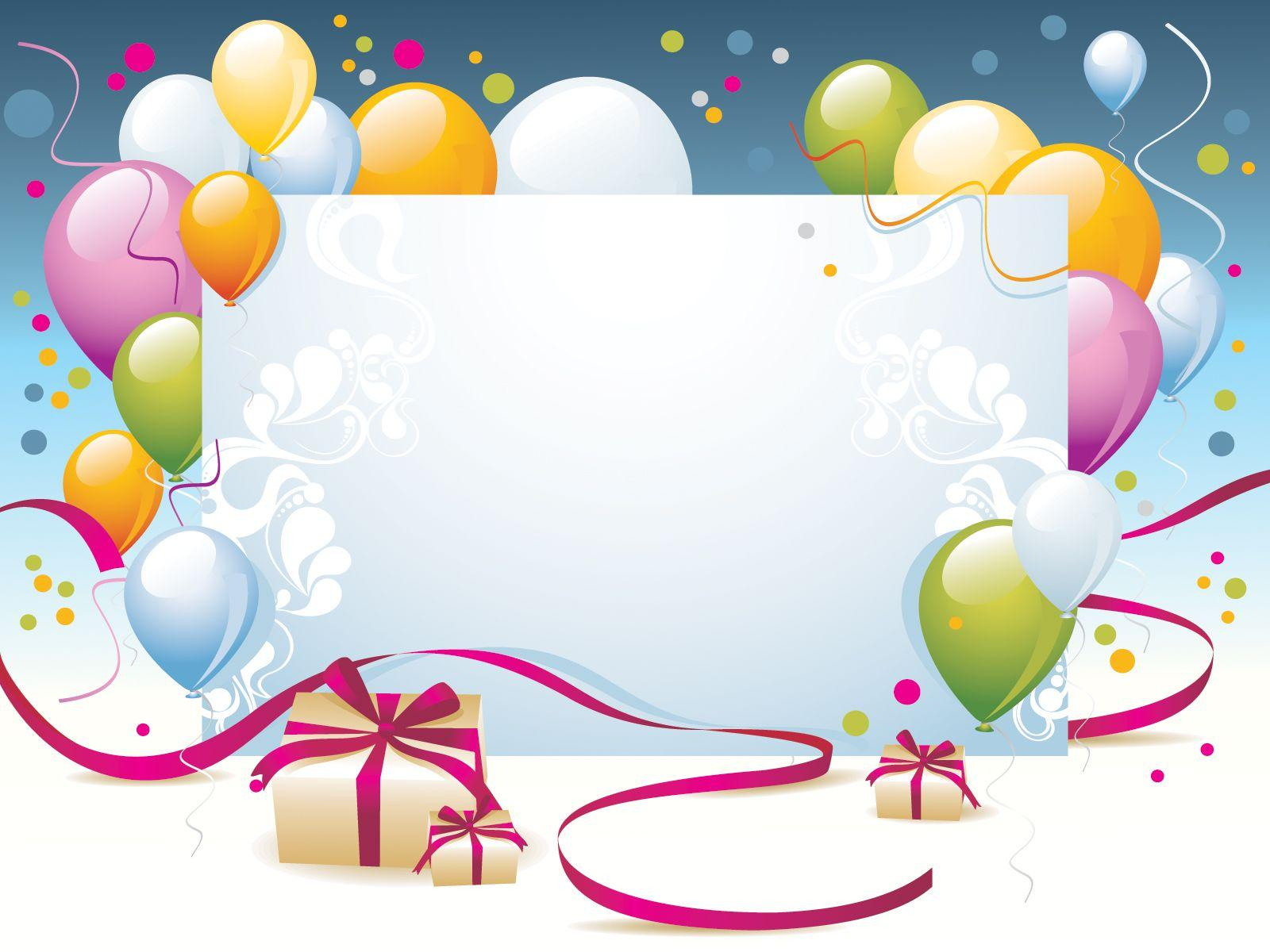 Happy Birthday Present Powerpoint Templates