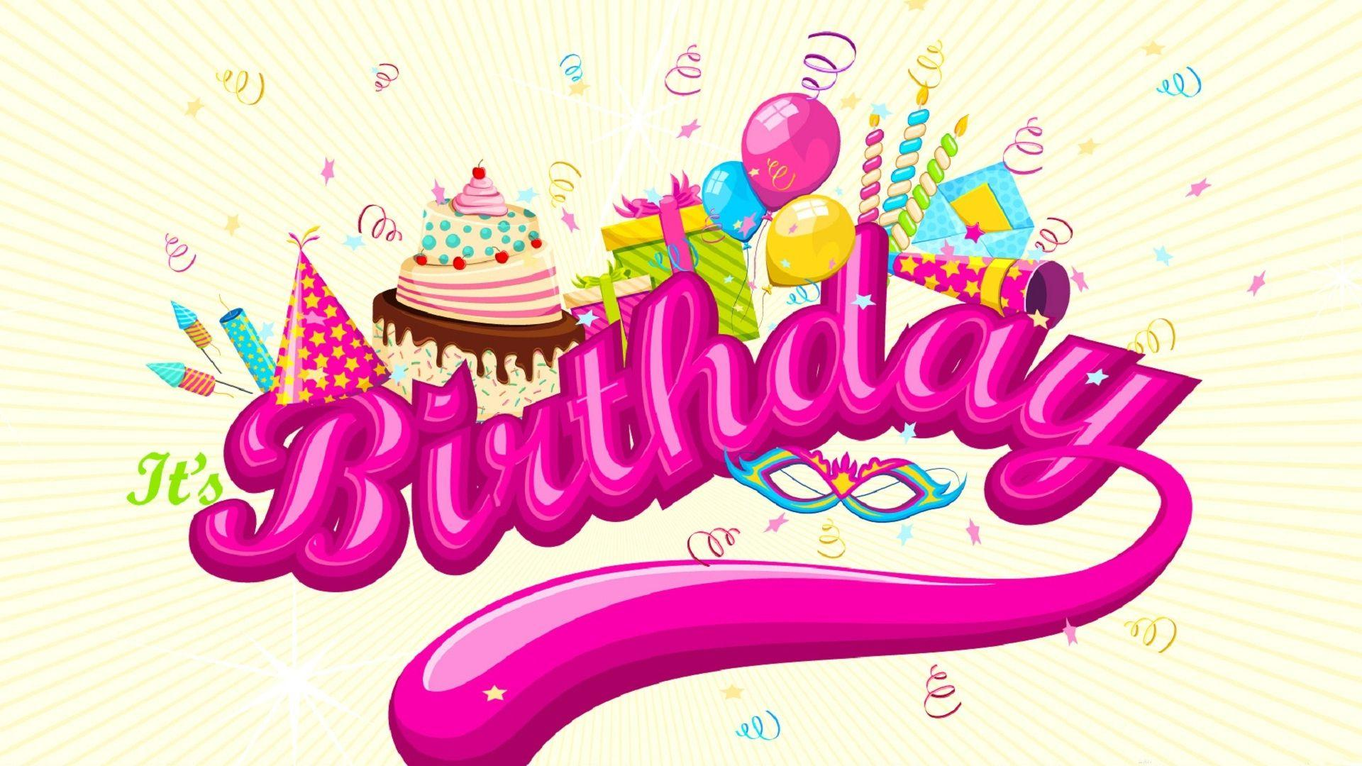 happy birthday backgrounds wallpapers pink hd 9