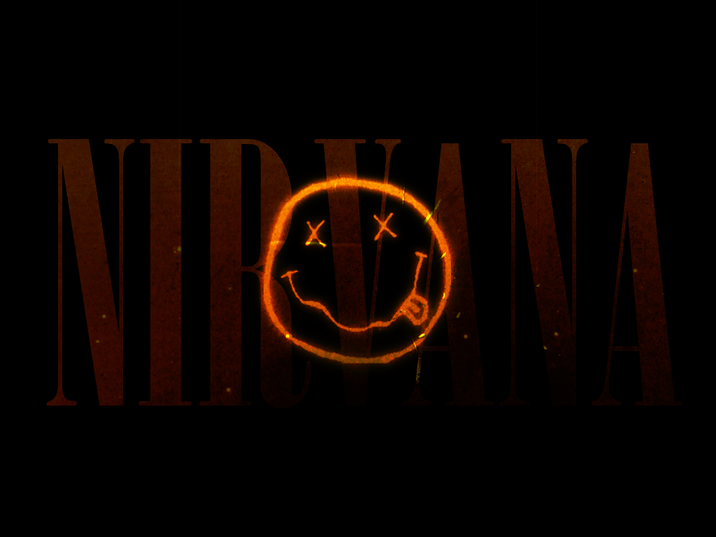 Nirvana Smiley Face Wallpapers Wallpaper Cave