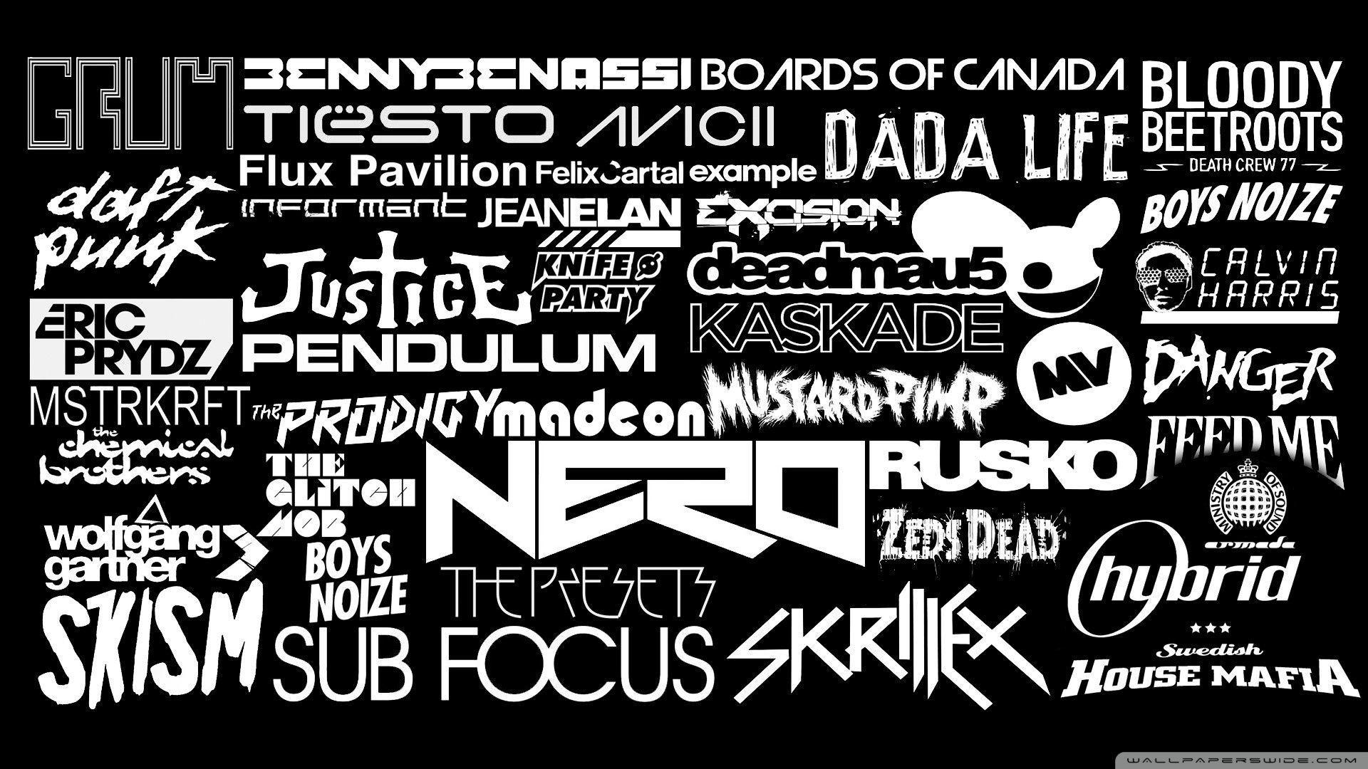 Dj Logo Hd Backgrounds Wallpaper Cave