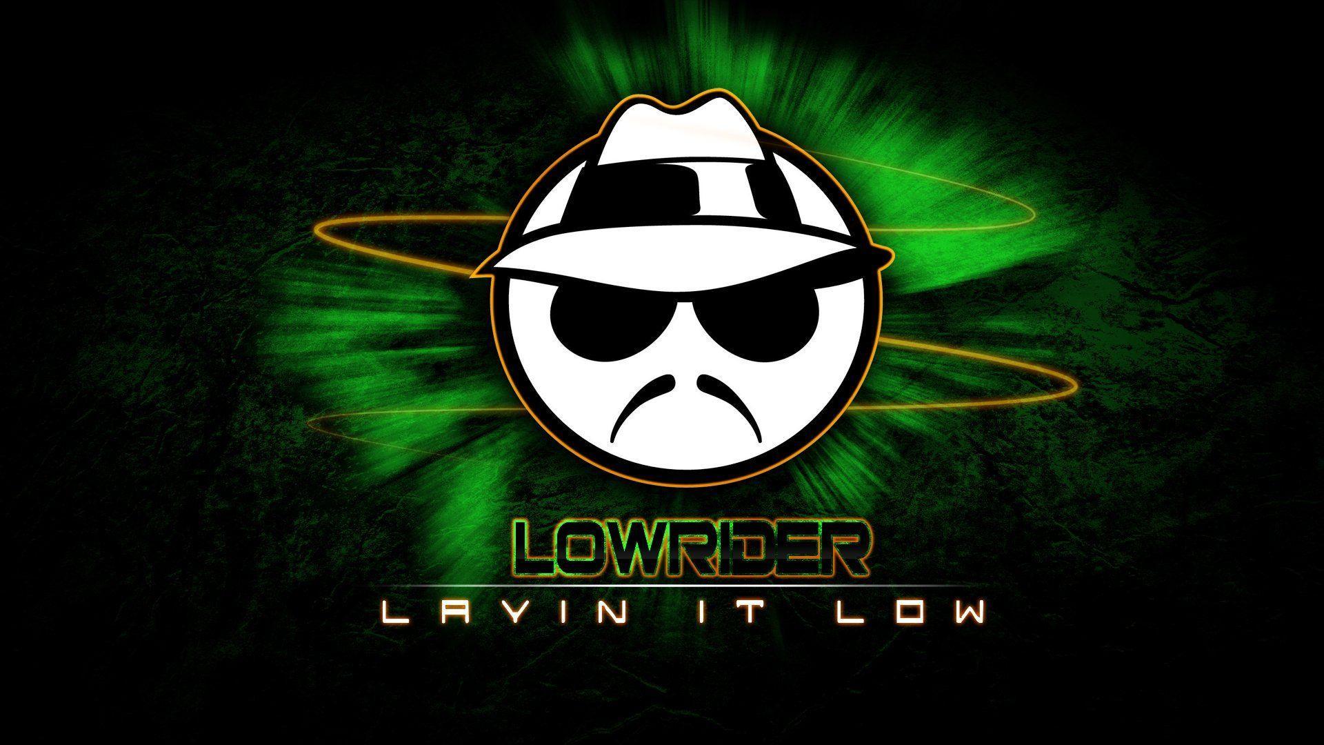 Lowrider Logo Wallpaper