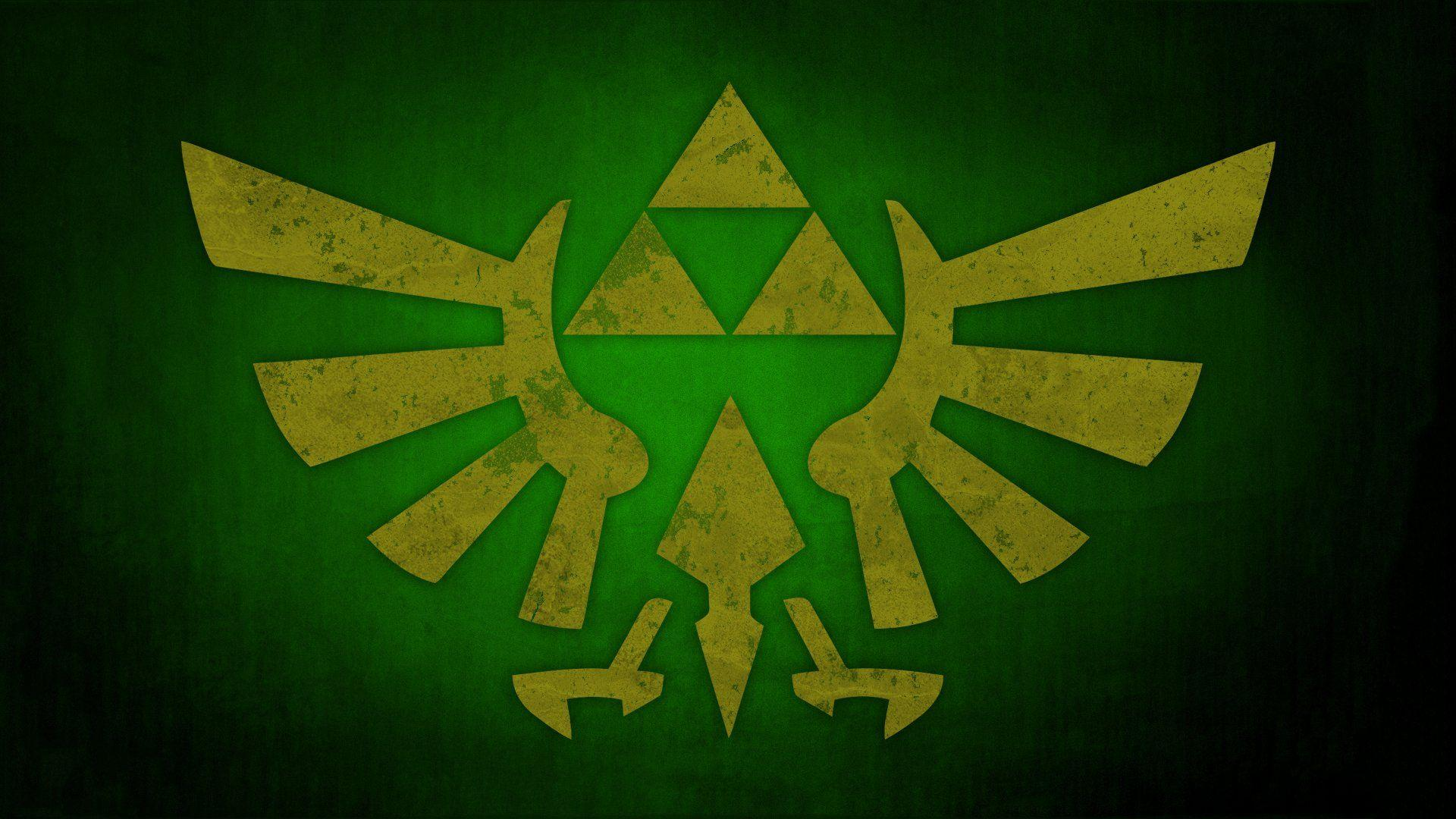 Legend Of Zelda Backgrounds Triforce Wallpaper Cave