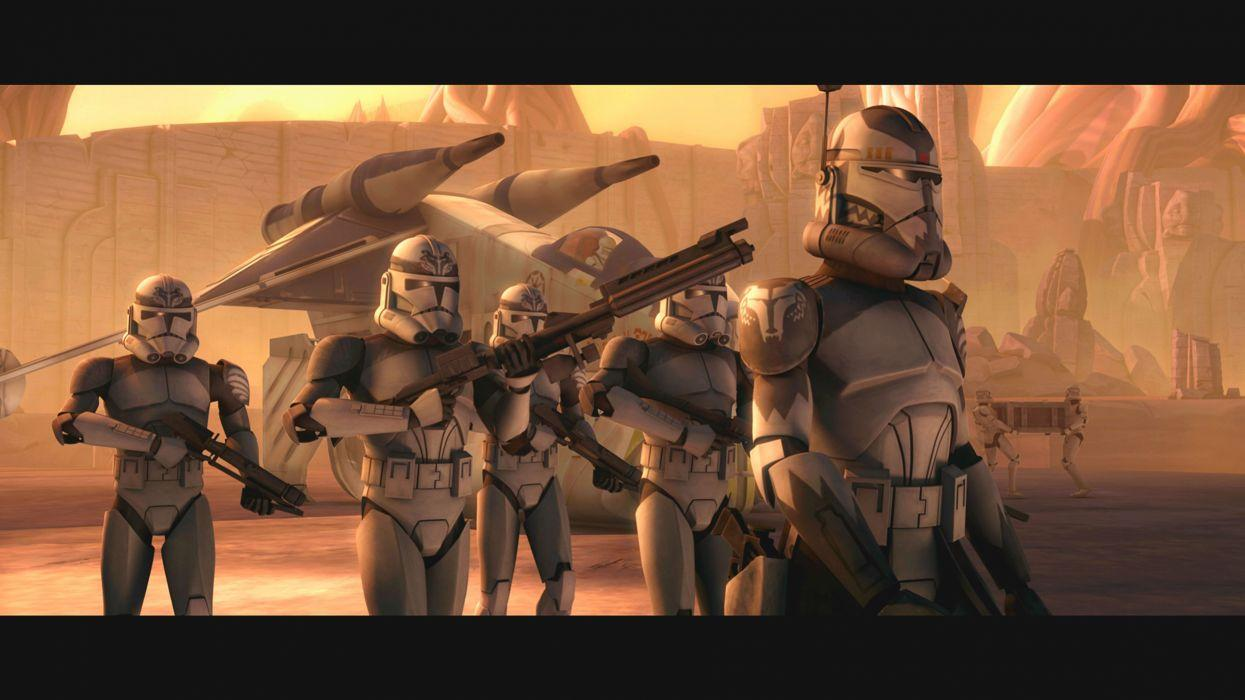 Star Wars Clones Wallpapers Wallpaper Cave