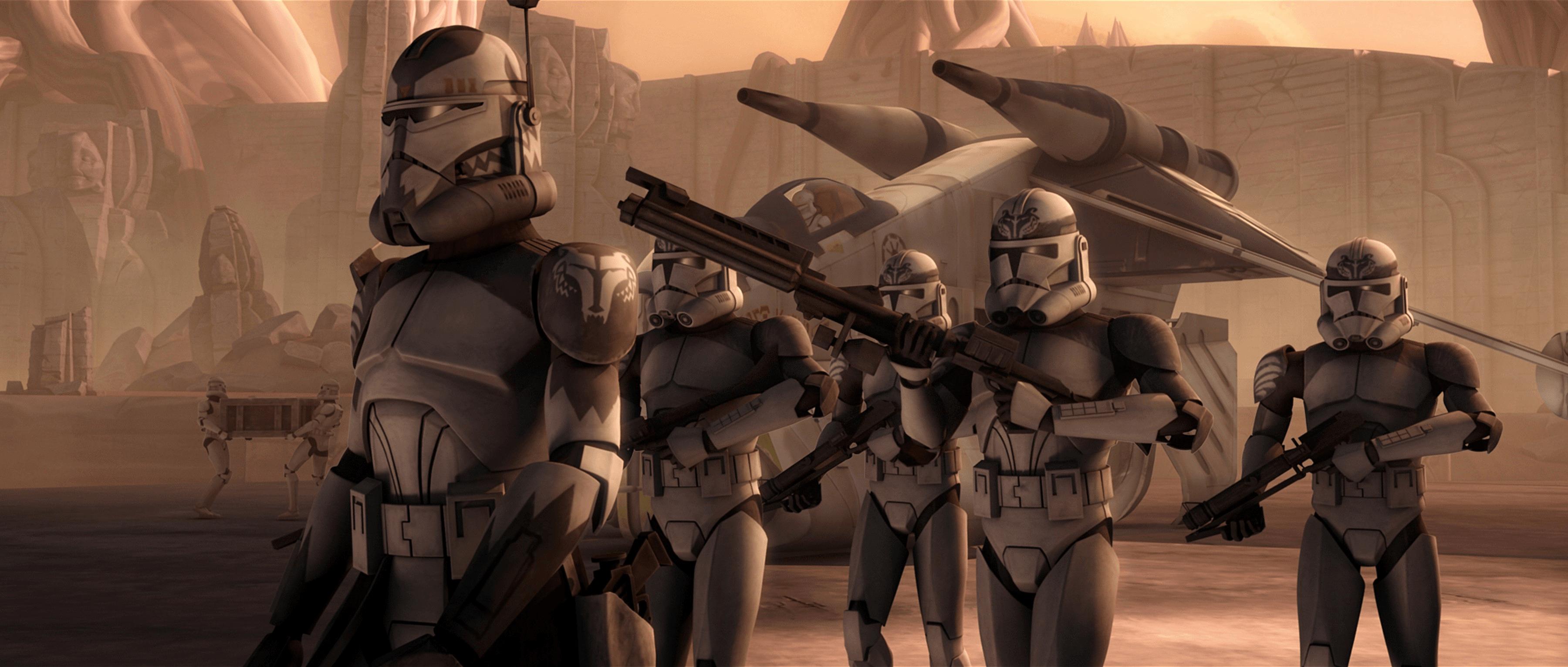 Star Wars Clones Wallpapers Wallpaper Cave
