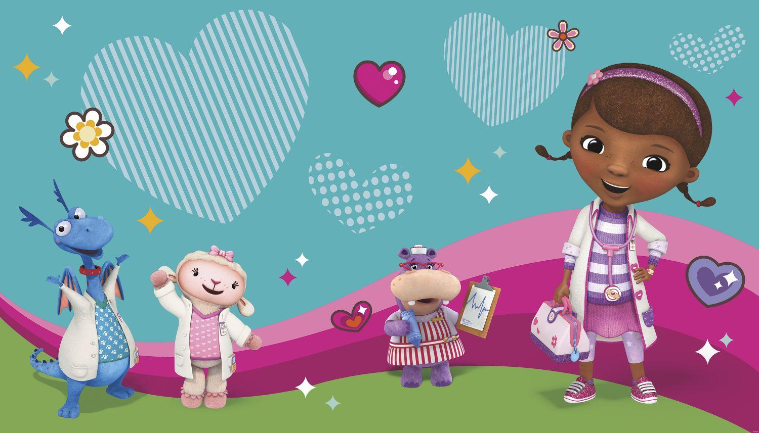 It's just a picture of Satisfactory Doc Mcstuffins Background