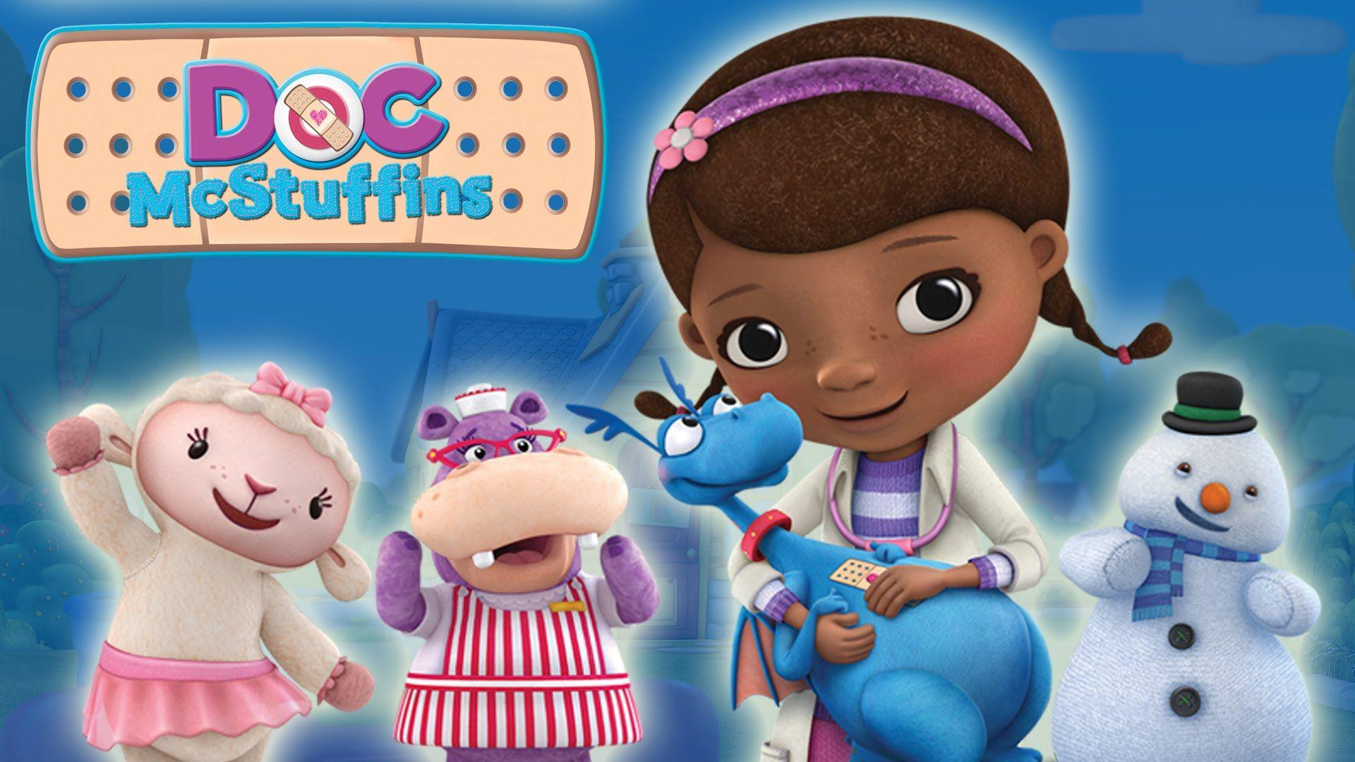 This is a photo of Resource Doc Mcstuffins Background