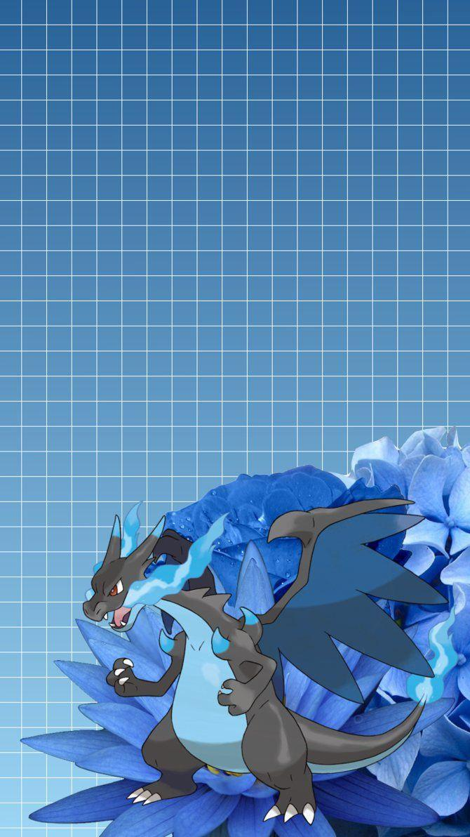 Mega Charizard X iPhone 6 Wallpapers by JollytheDitto