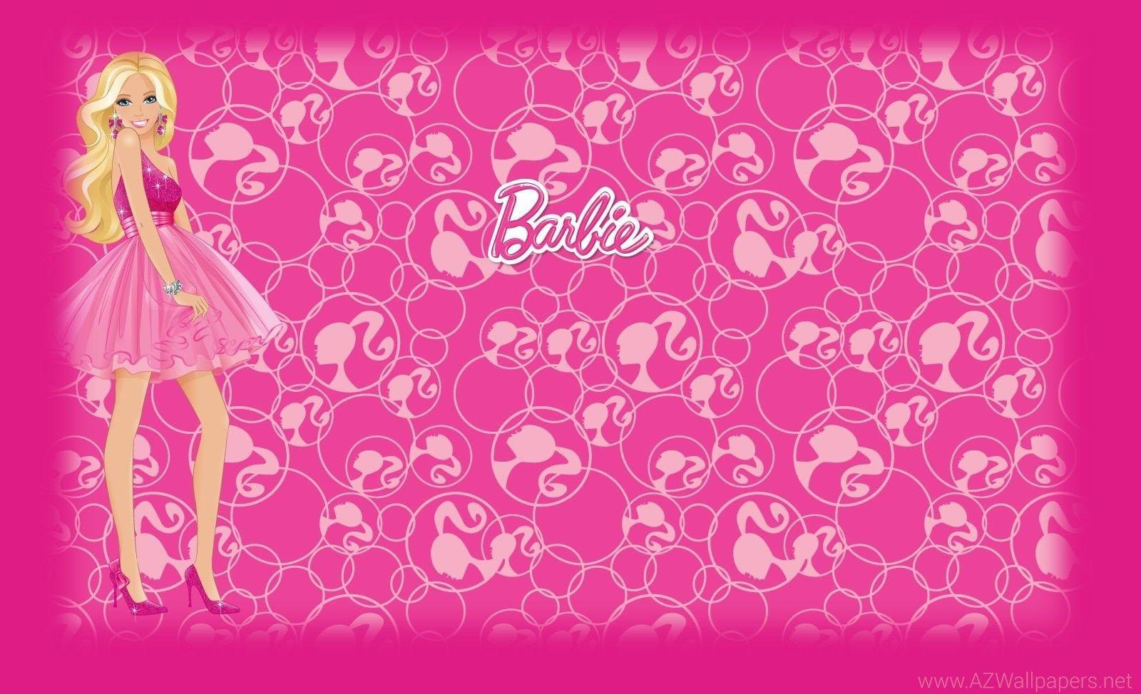 Barbie Backgrounds Pink Wallpaper Cave