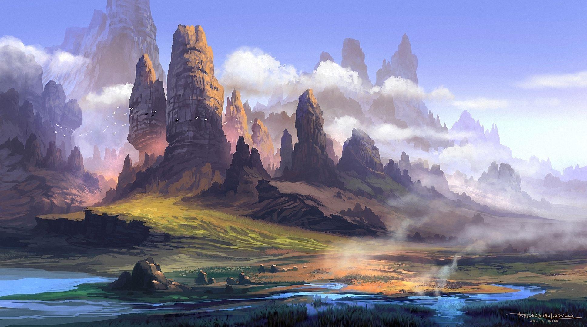 Fantasy backgrounds wallpaper cave - Fantasy background ...