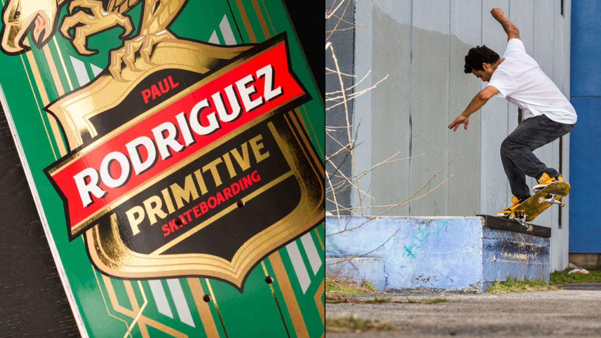 Rodriguez launches Primitive Skateboarding brand