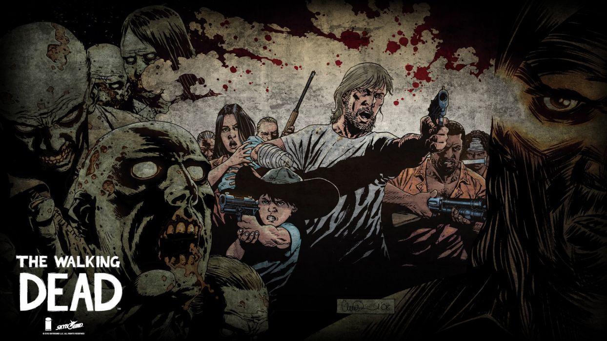 The Walking Dead Comics Wallpapers Wallpaper Cave
