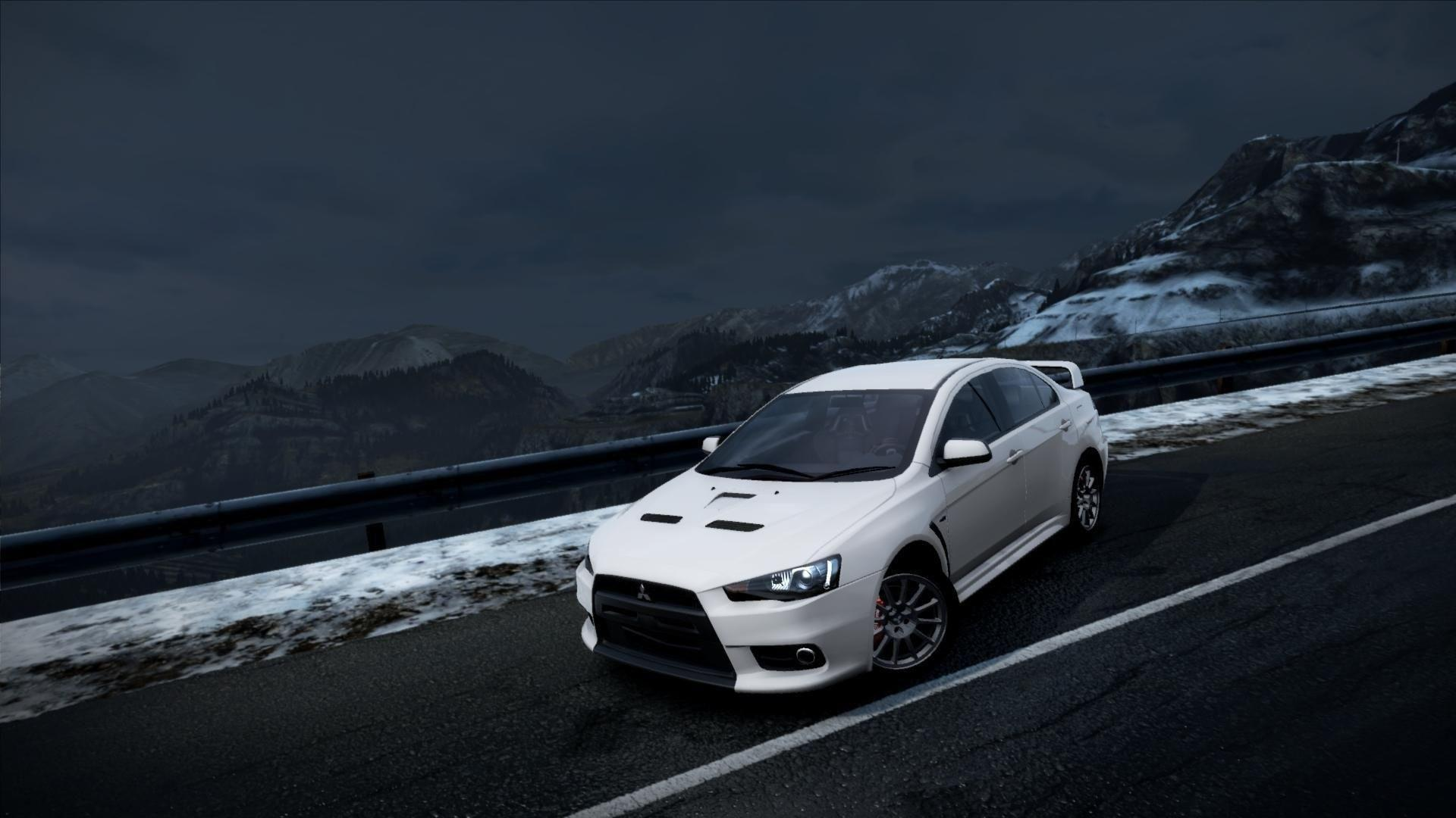 Mitsubishi Lancer Evolution X Wallpapers