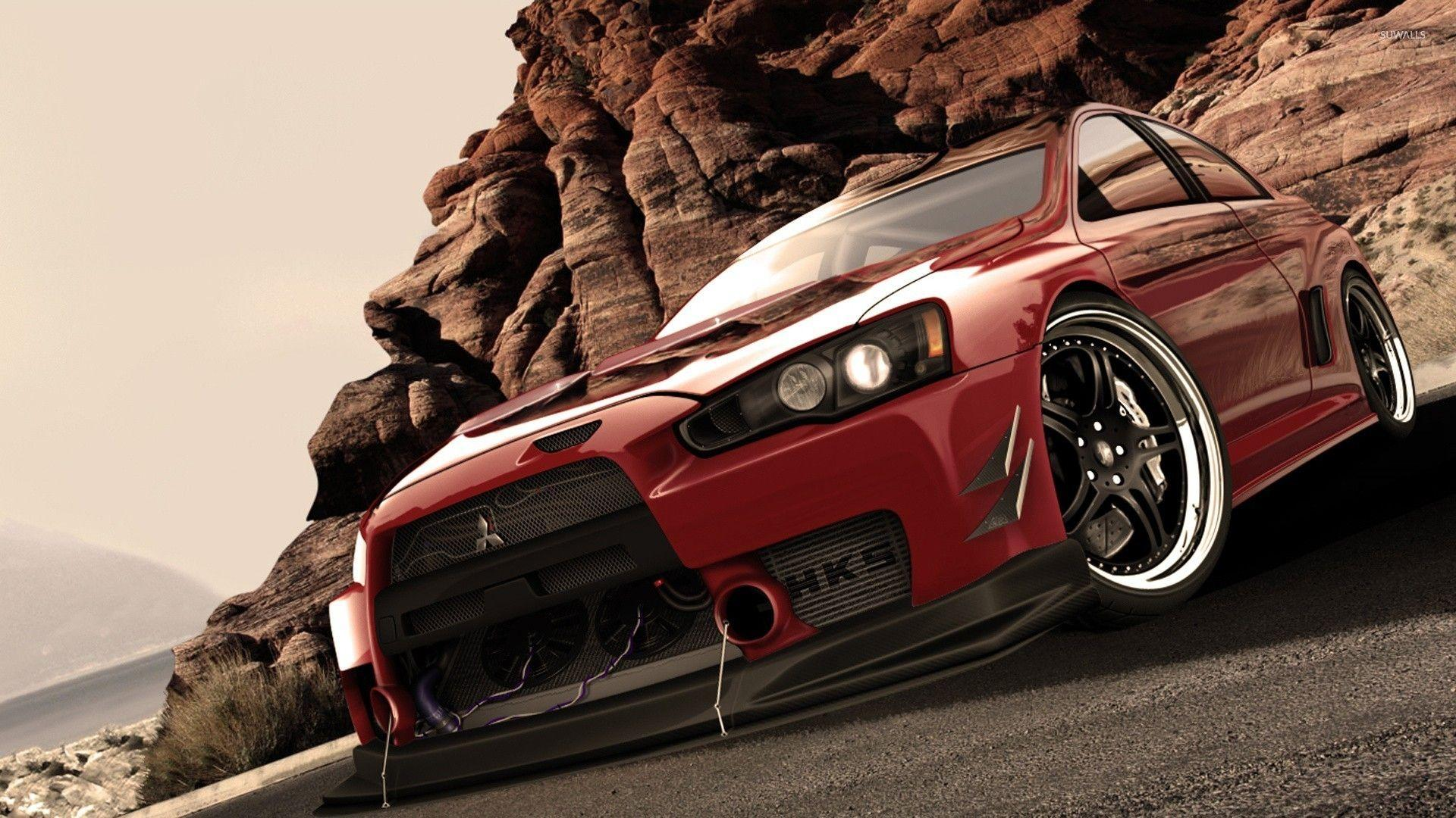 Cars Mitsubishi Lancer Evo X wallpapers