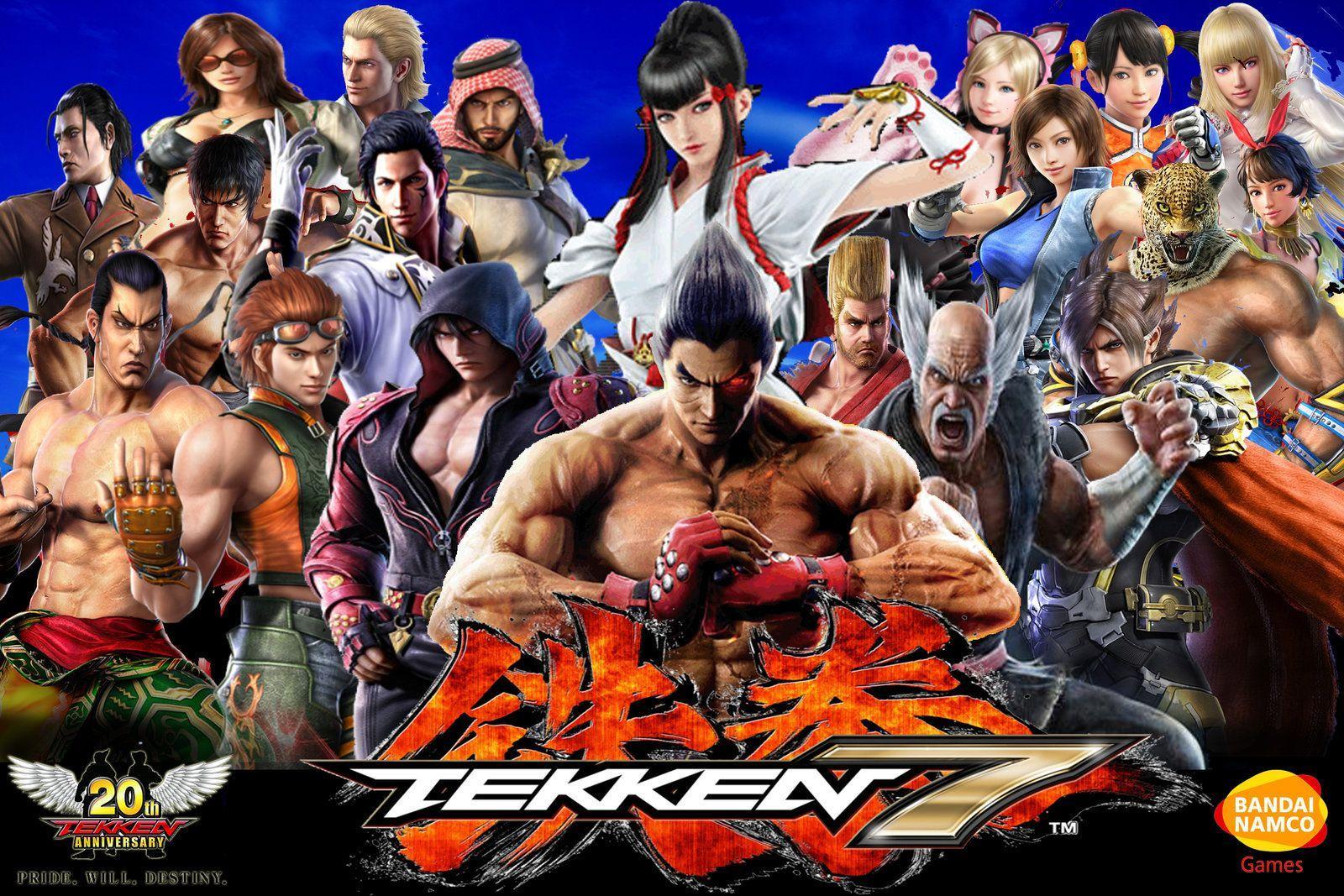 Tekken 7 Characters Wallpapers Wallpaper Cave