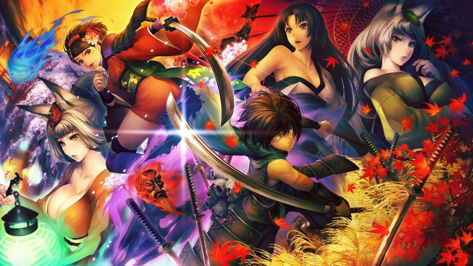 Muramasa Rebirth Ps Vita Wallpapers Wallpaper Cave