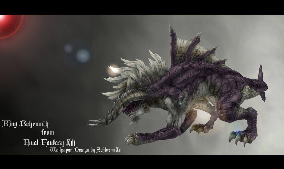 Download Final Fantasy Behemoth Wallpaper