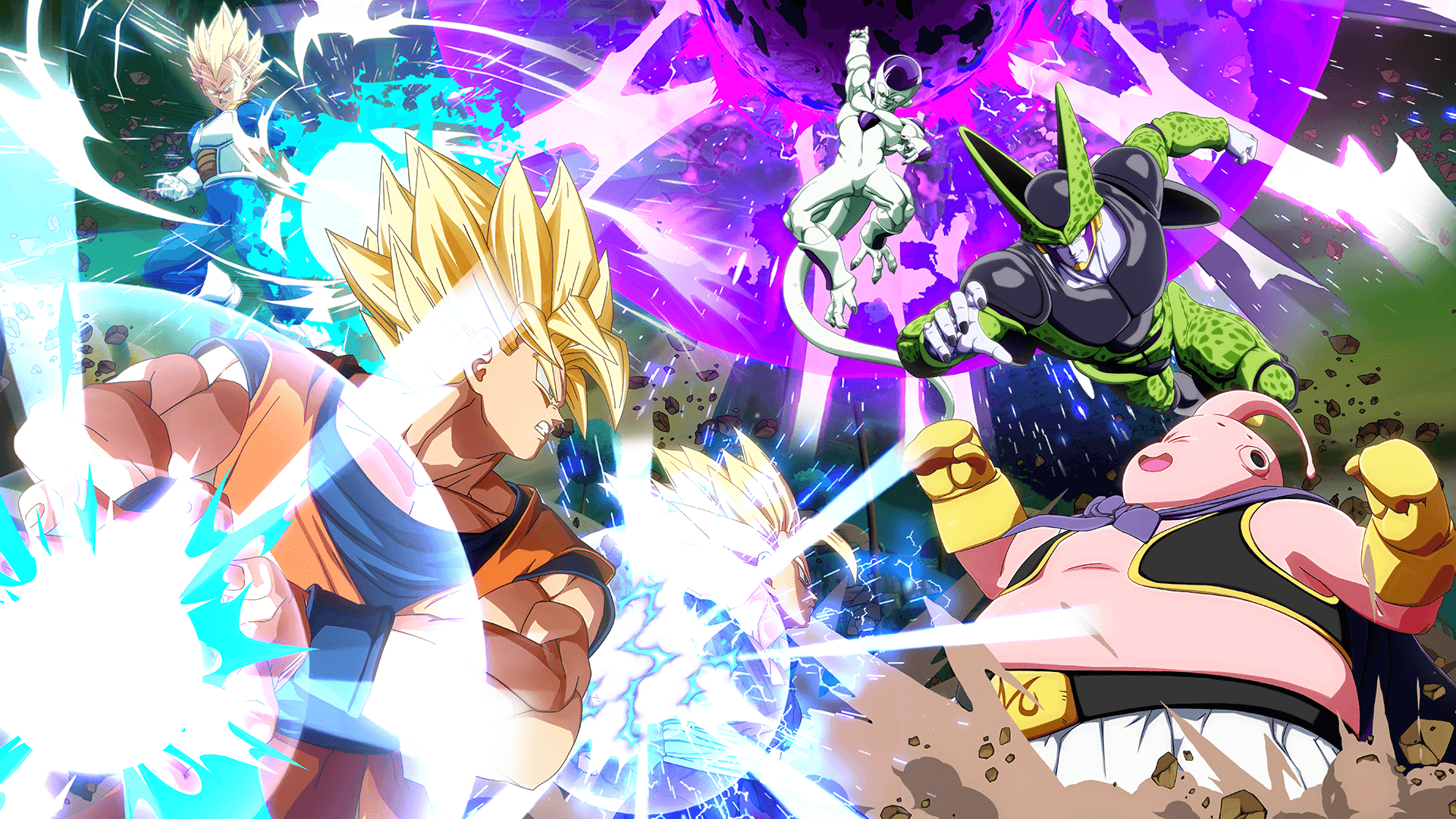 Dragon Ball Z Fighters Wallpapers Wallpaper Cave