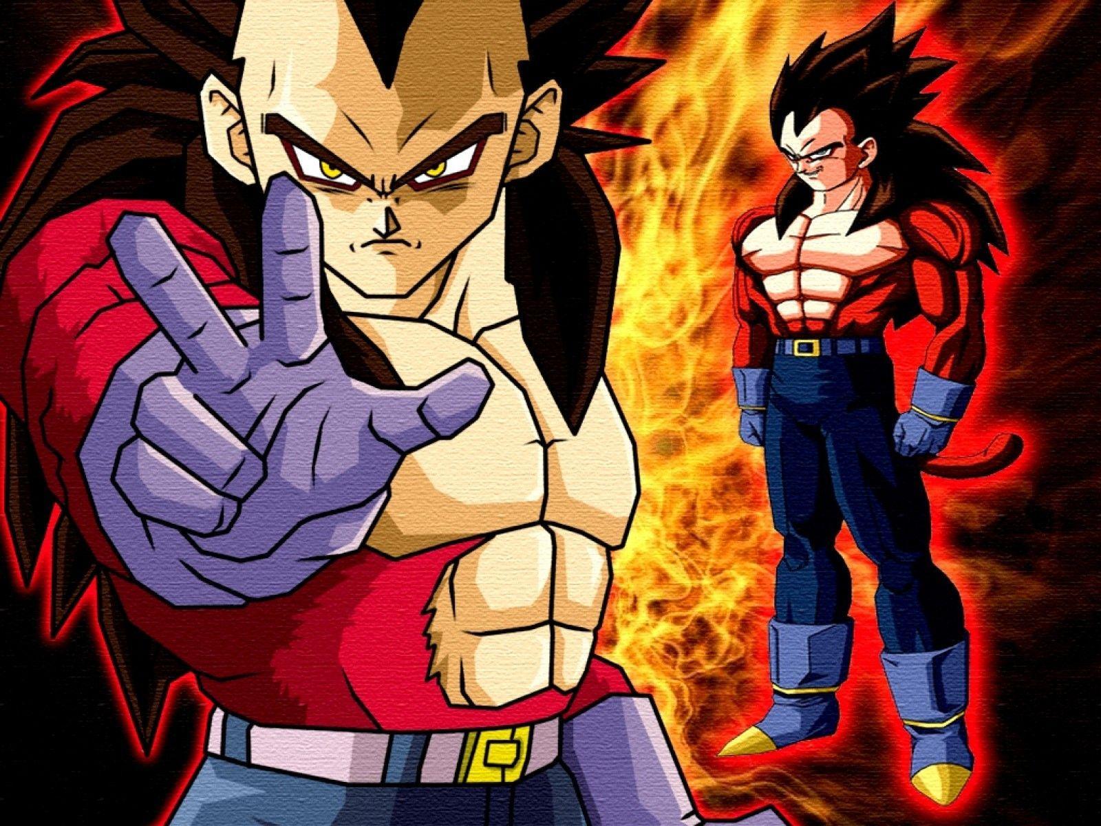 Dragon Ball Z Wallpapers Goku And Vegeta Super Saiyan 4