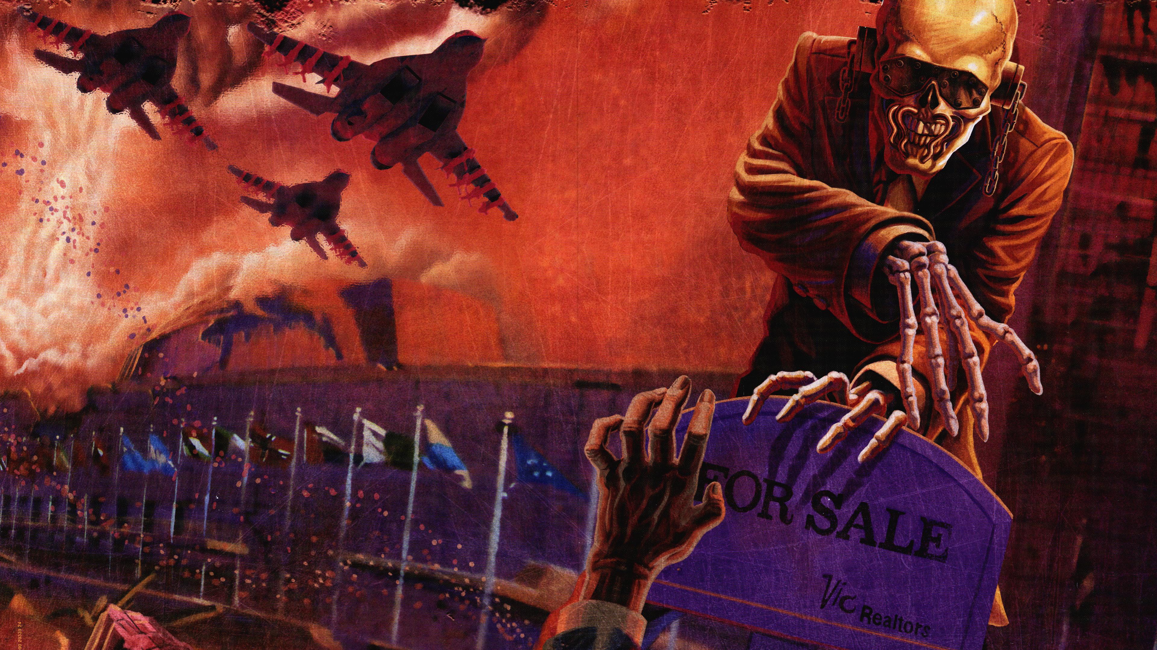 Megadeth Wallpapers Peace Sells