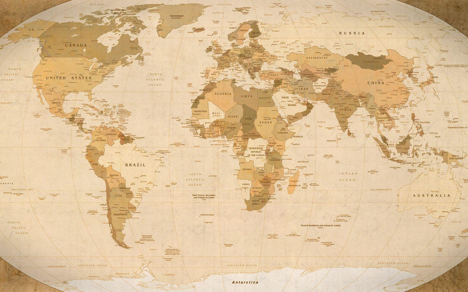 World Map High Definition Wallpapers - Wallpaper Cave