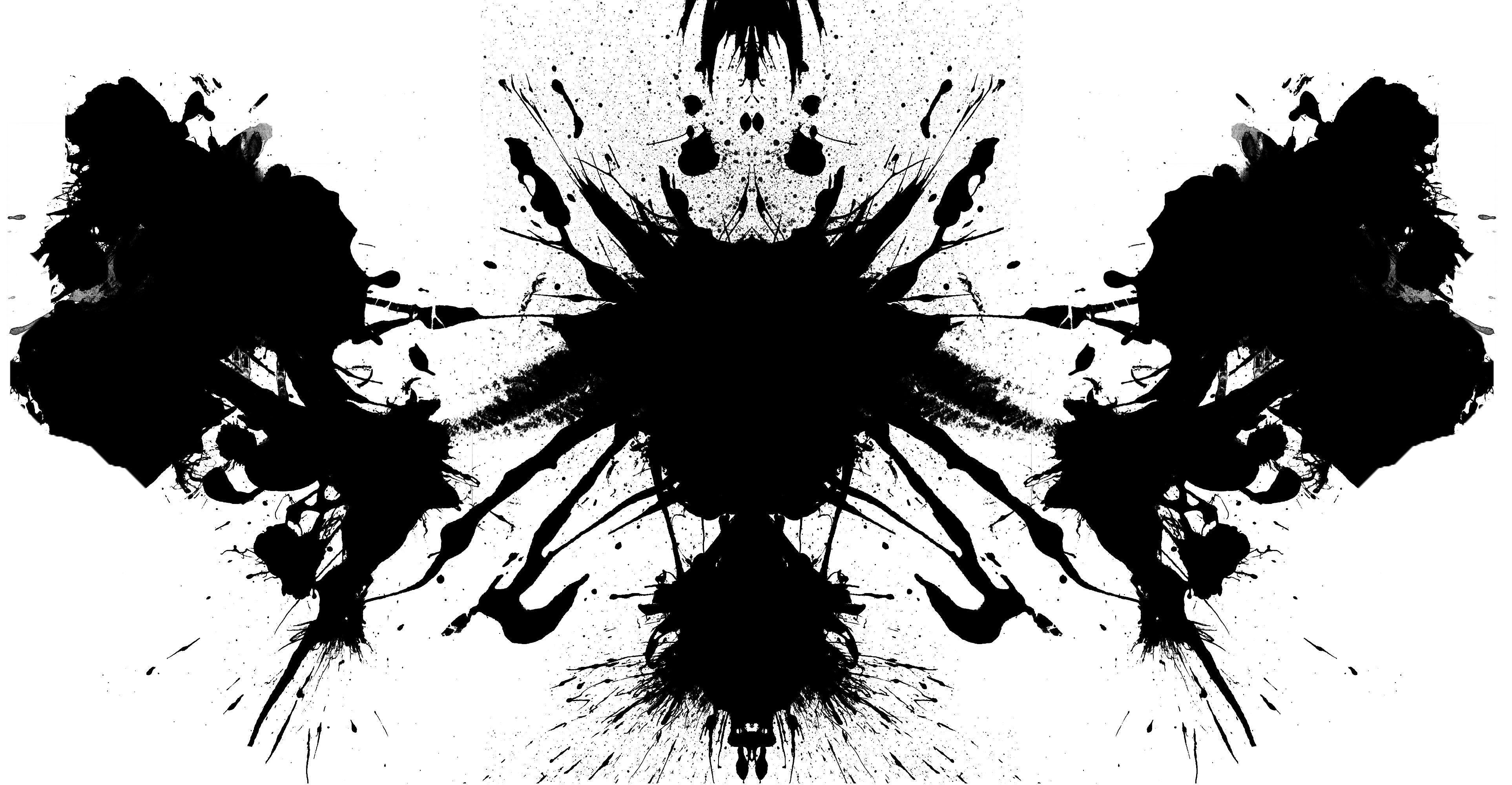 black and white rorschach test Art | artsies | Pinterest | Rorschach .