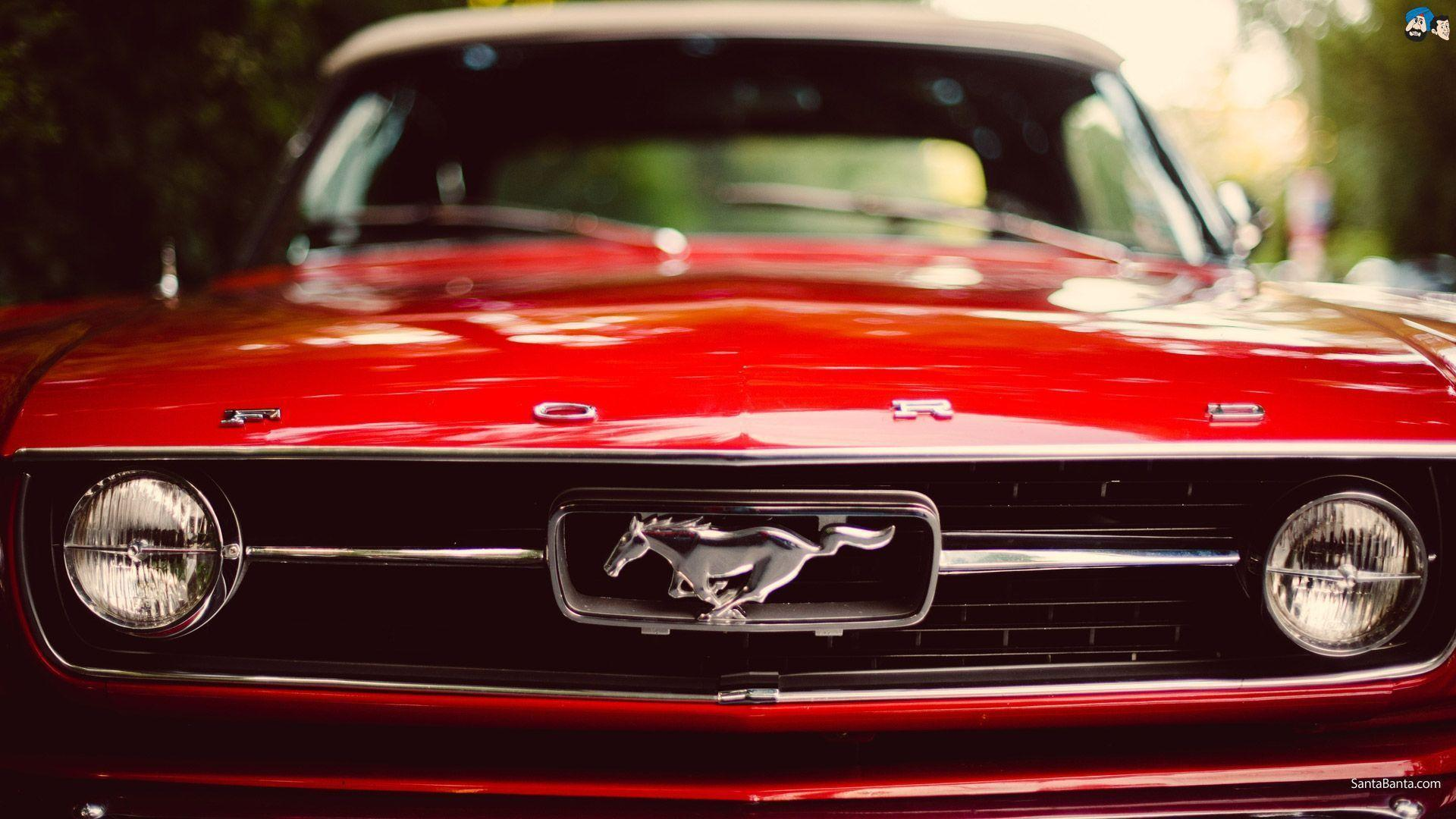 67 Mustang Wallpapers Red Wallpaper Cave